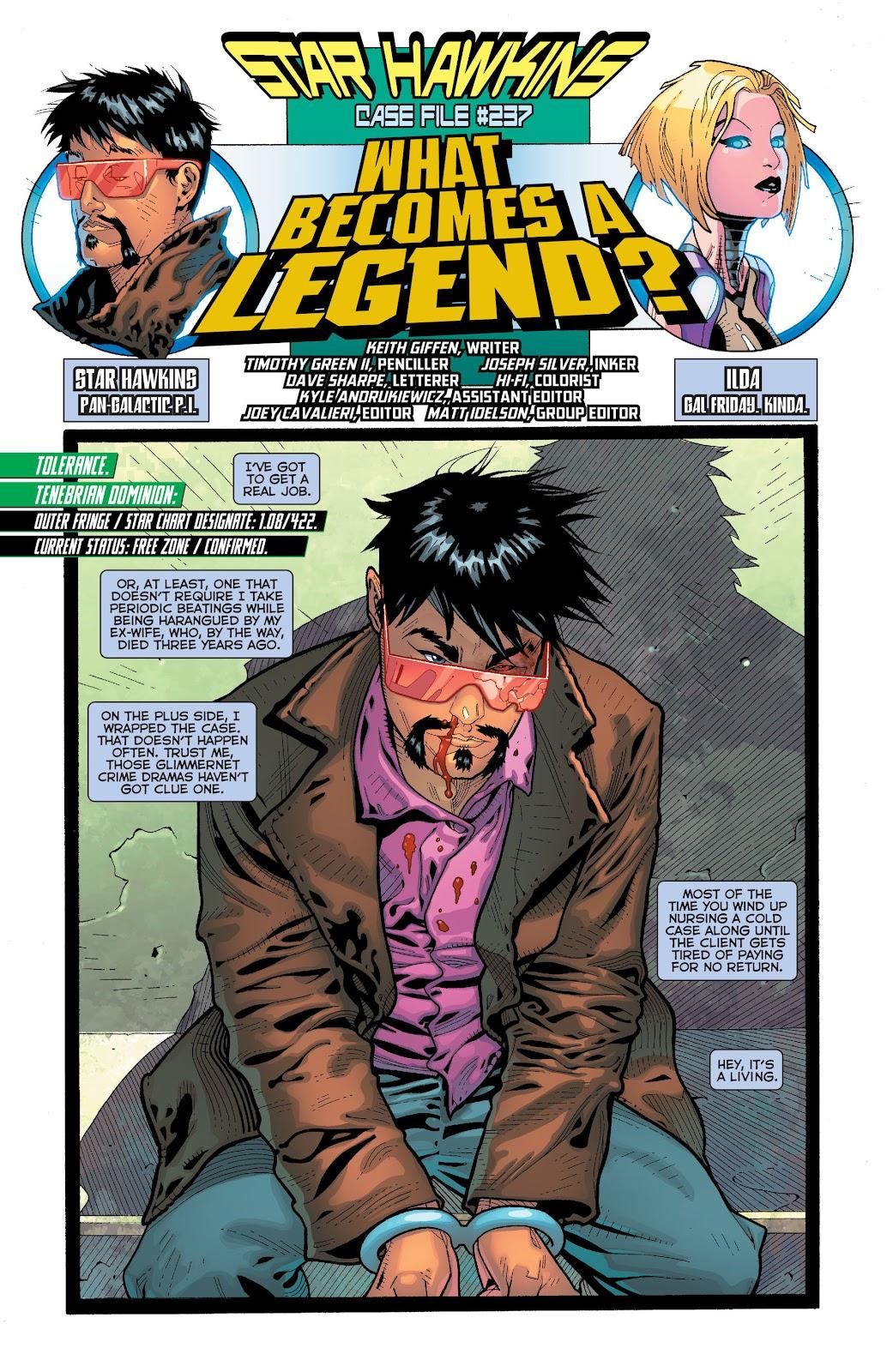 Threshold (2013) Issue #6 #6 - English 21