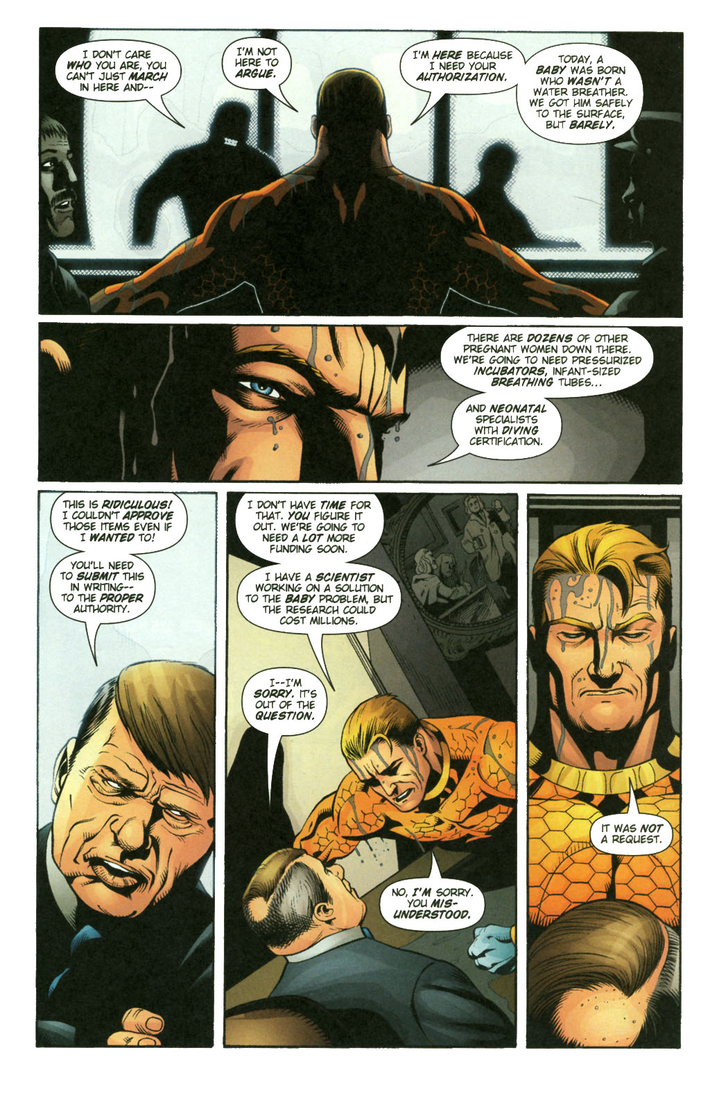 Aquaman (2003) Issue #21 #21 - English 12
