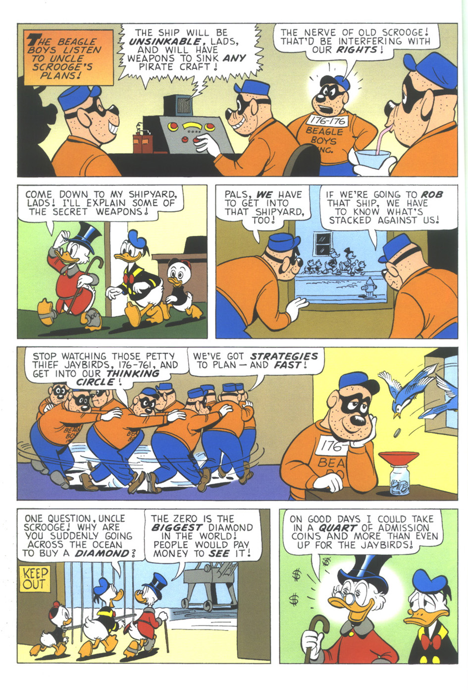 Uncle Scrooge (1953) Issue #349 #349 - English 6