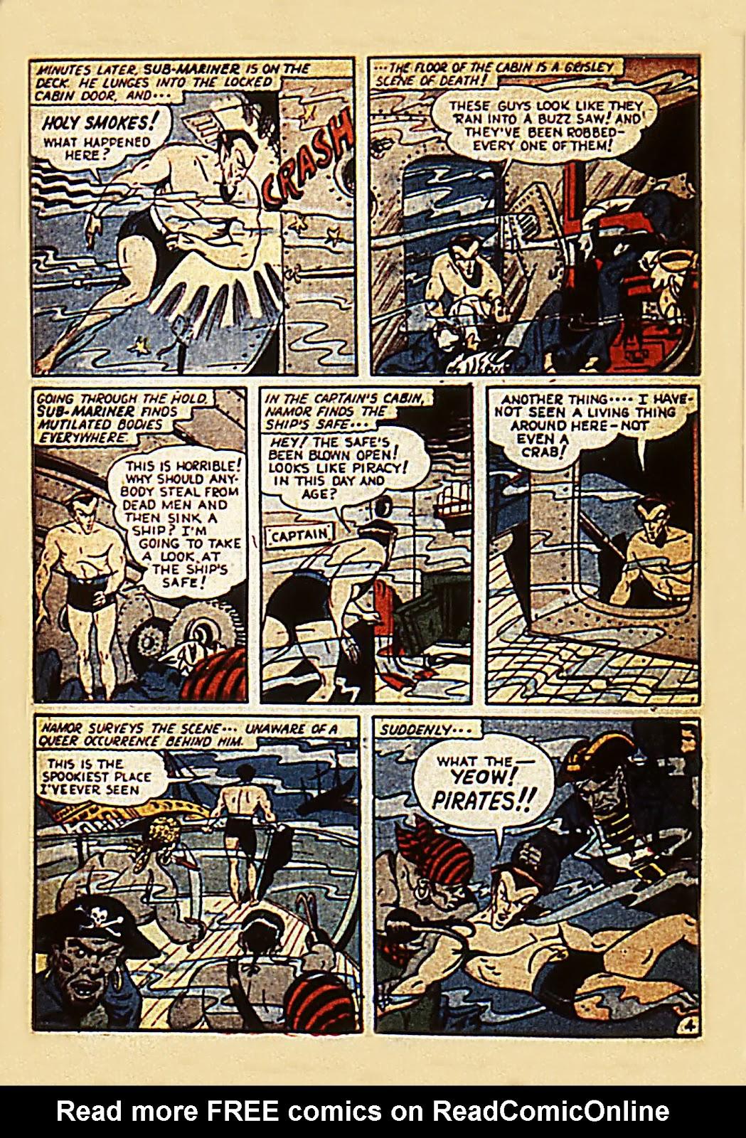 Sub-Mariner Comics Issue #7 #7 - English 6