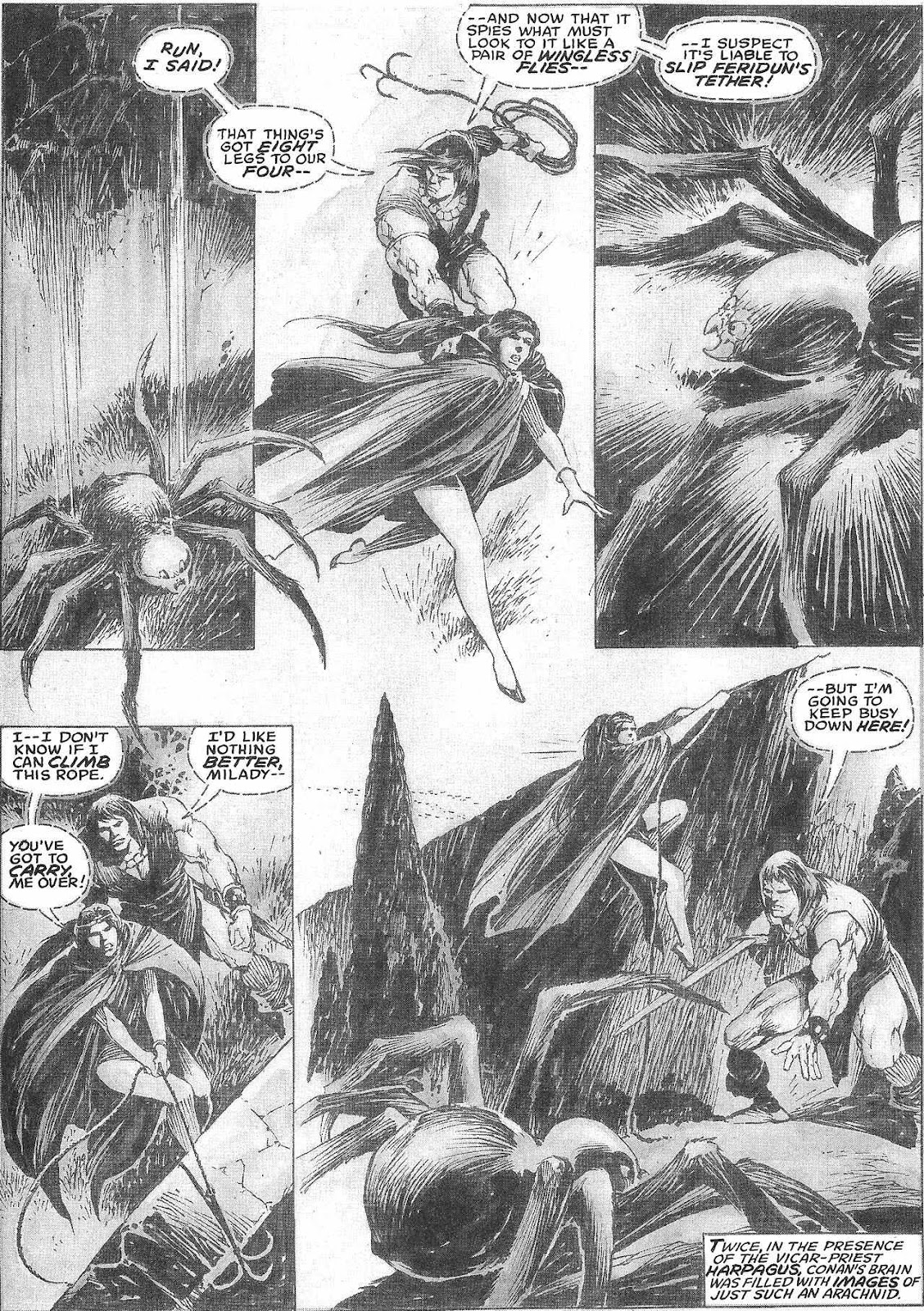 The Savage Sword Of Conan Issue #209 #210 - English 38