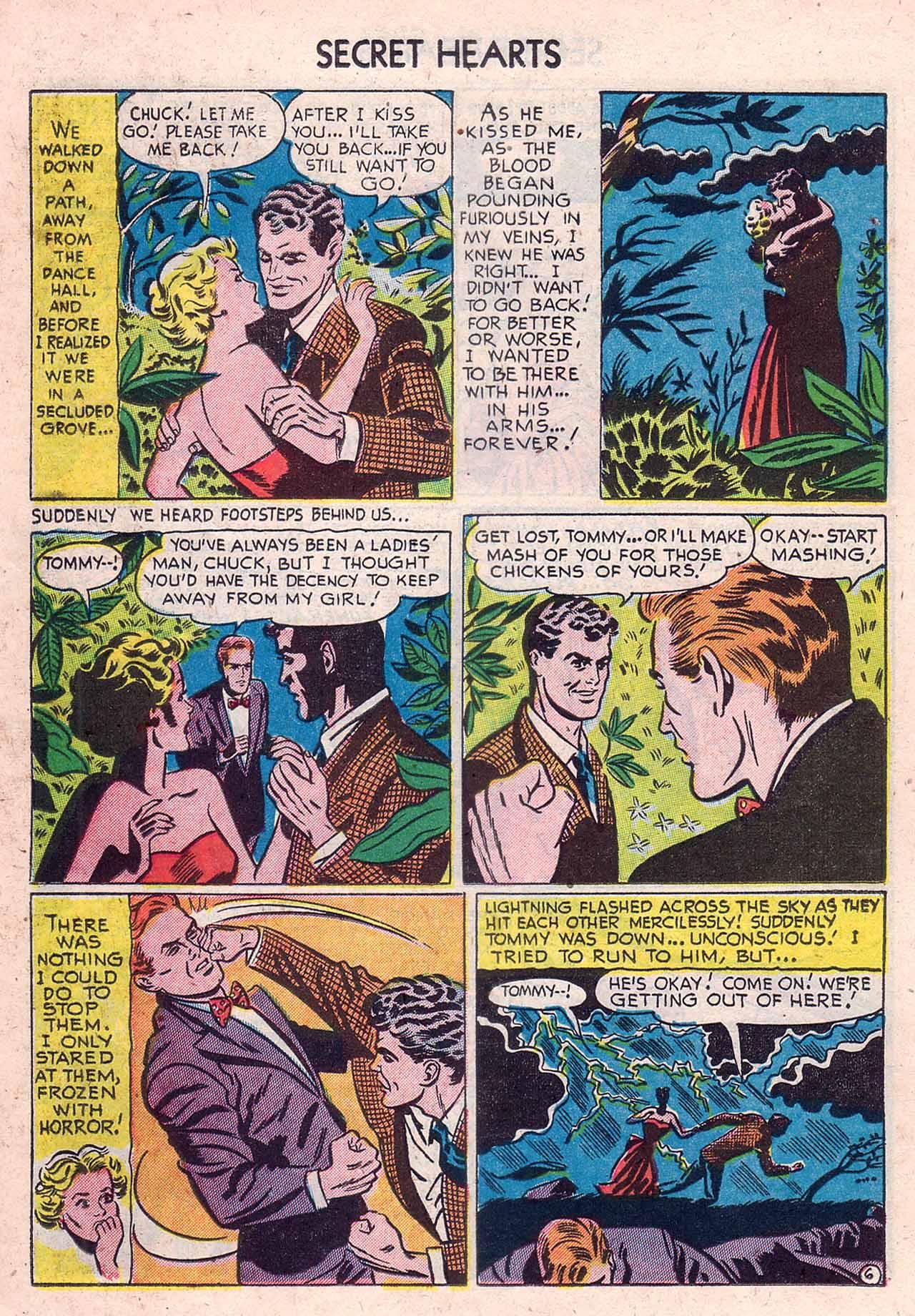 Read online Secret Hearts comic -  Issue #12 - 22