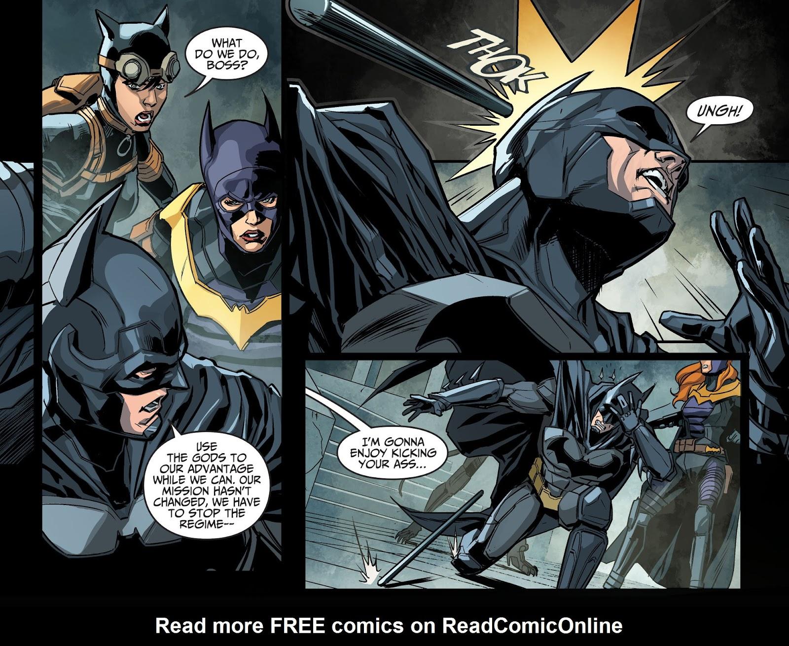 Injustice: Gods Among Us Year Four Issue #14 #15 - English 10