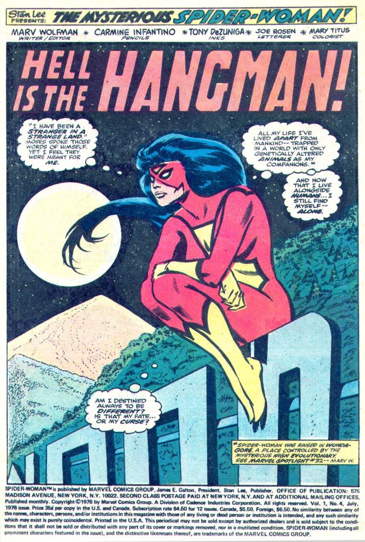Spider-Woman (1978) #4 #47 - English 2