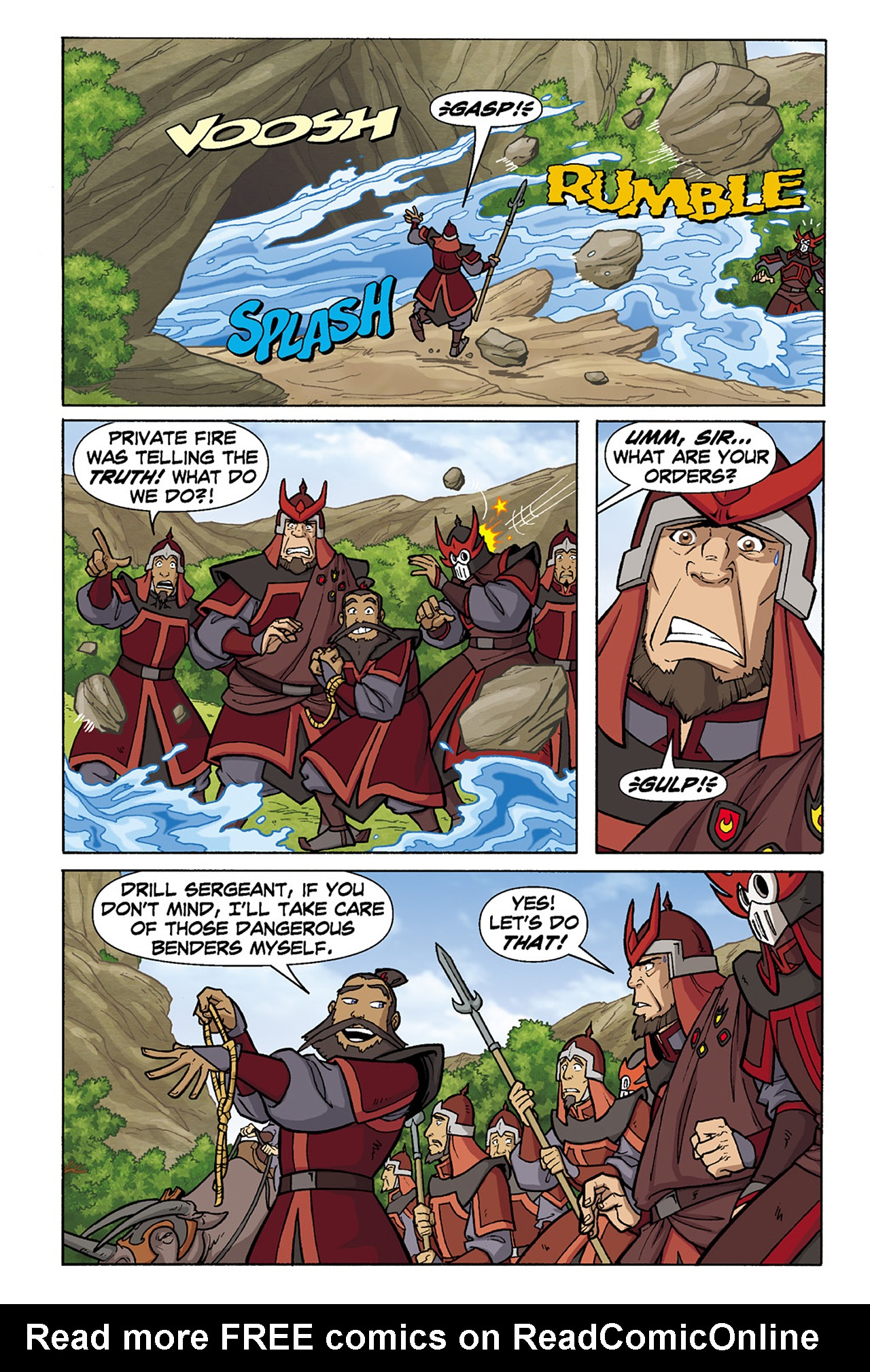 Nickelodeon Avatar: The Last Airbender - The Lost Adventures chap full pic 136