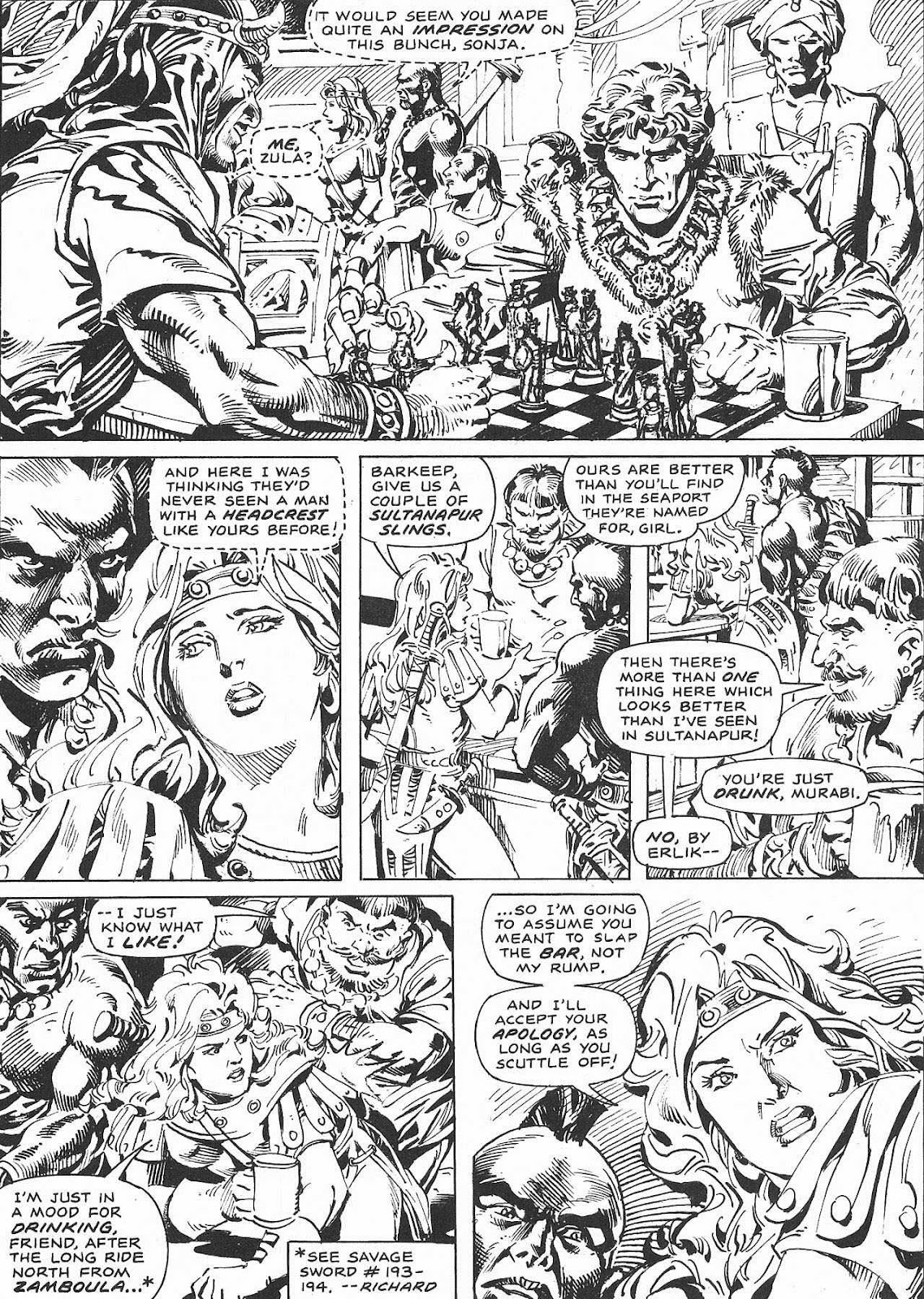The Savage Sword Of Conan Issue #207 #208 - English 56