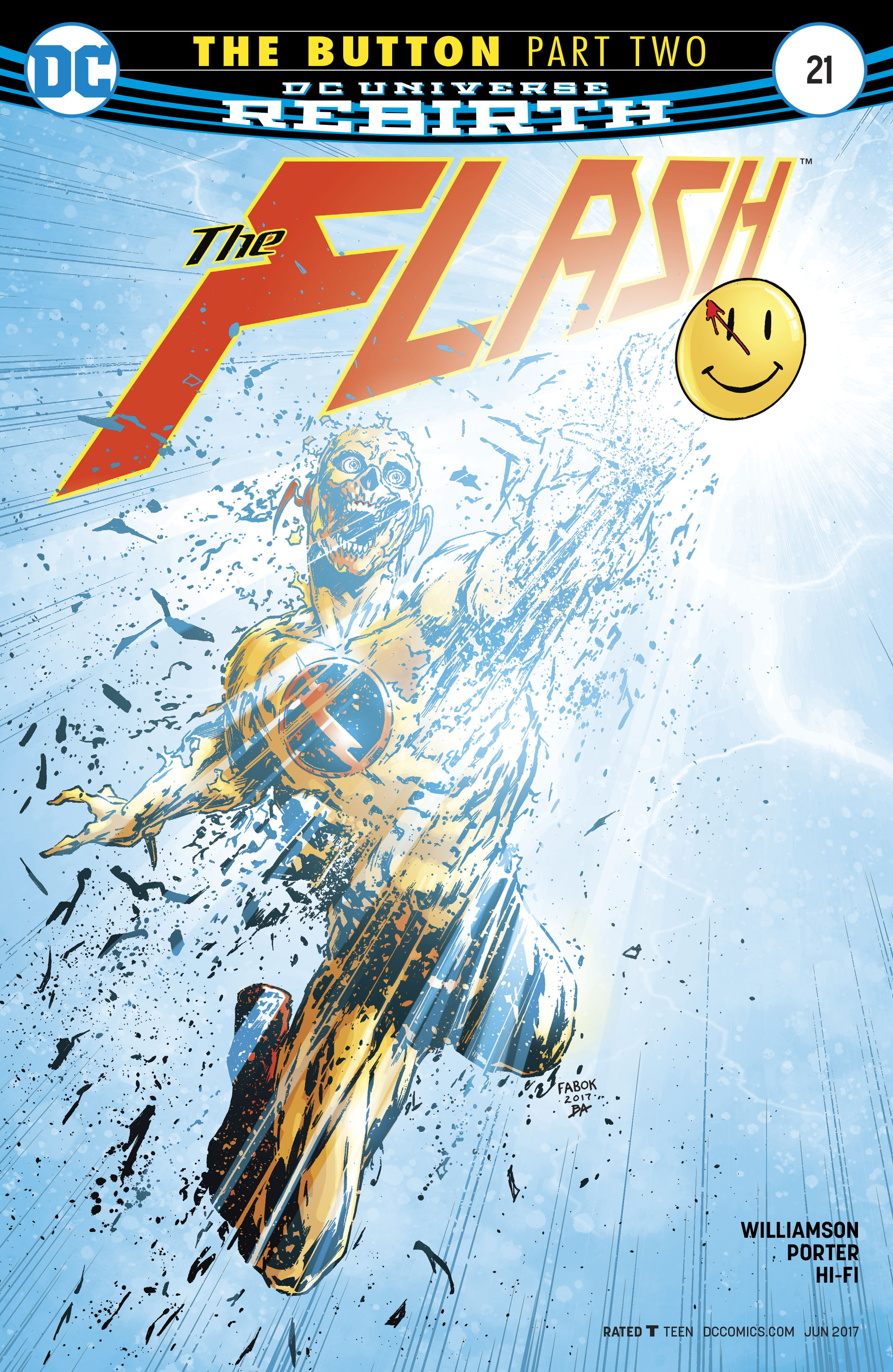 The Flash (2016) issue 21 - Page 1