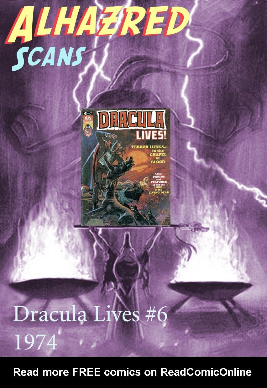 Dracula Lives 6 Page 1