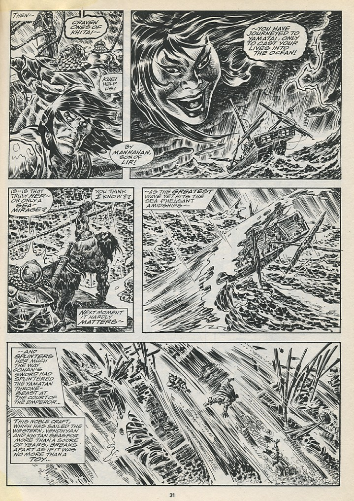 The Savage Sword Of Conan Issue #194 #195 - English 33