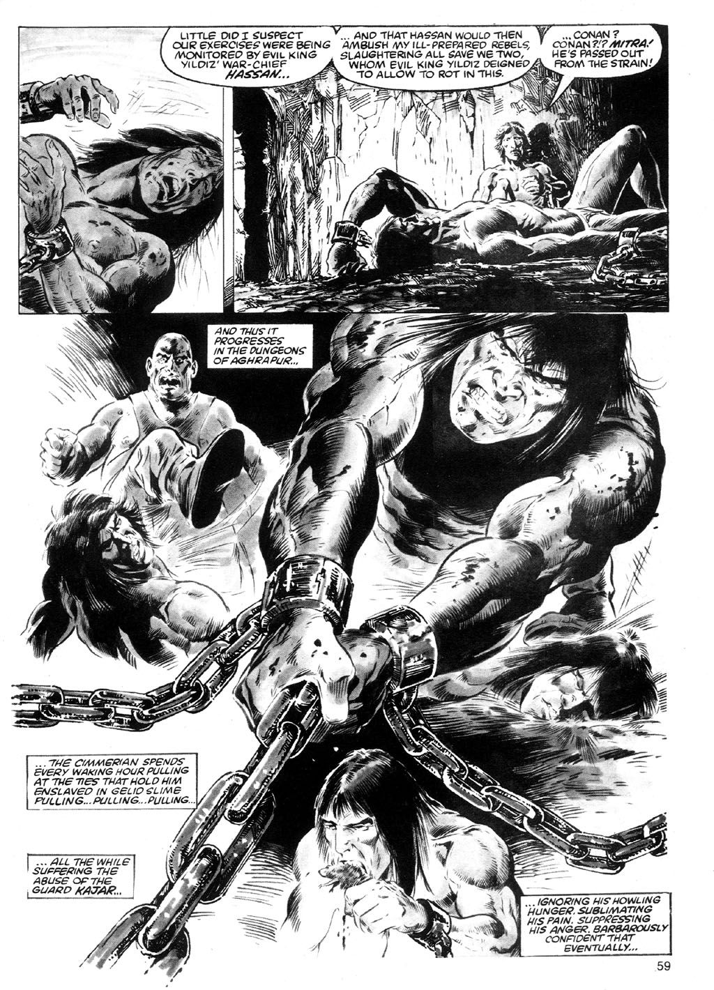 The Savage Sword Of Conan Issue #91 #92 - English 55