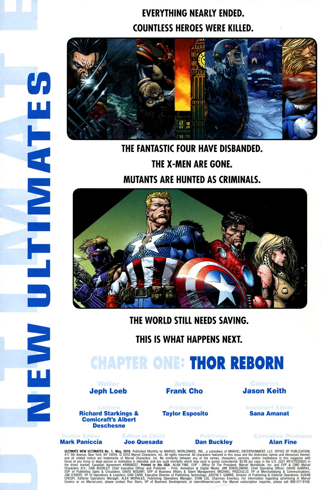 Ultimate New Ultimates Issue #1 #1 - English 3