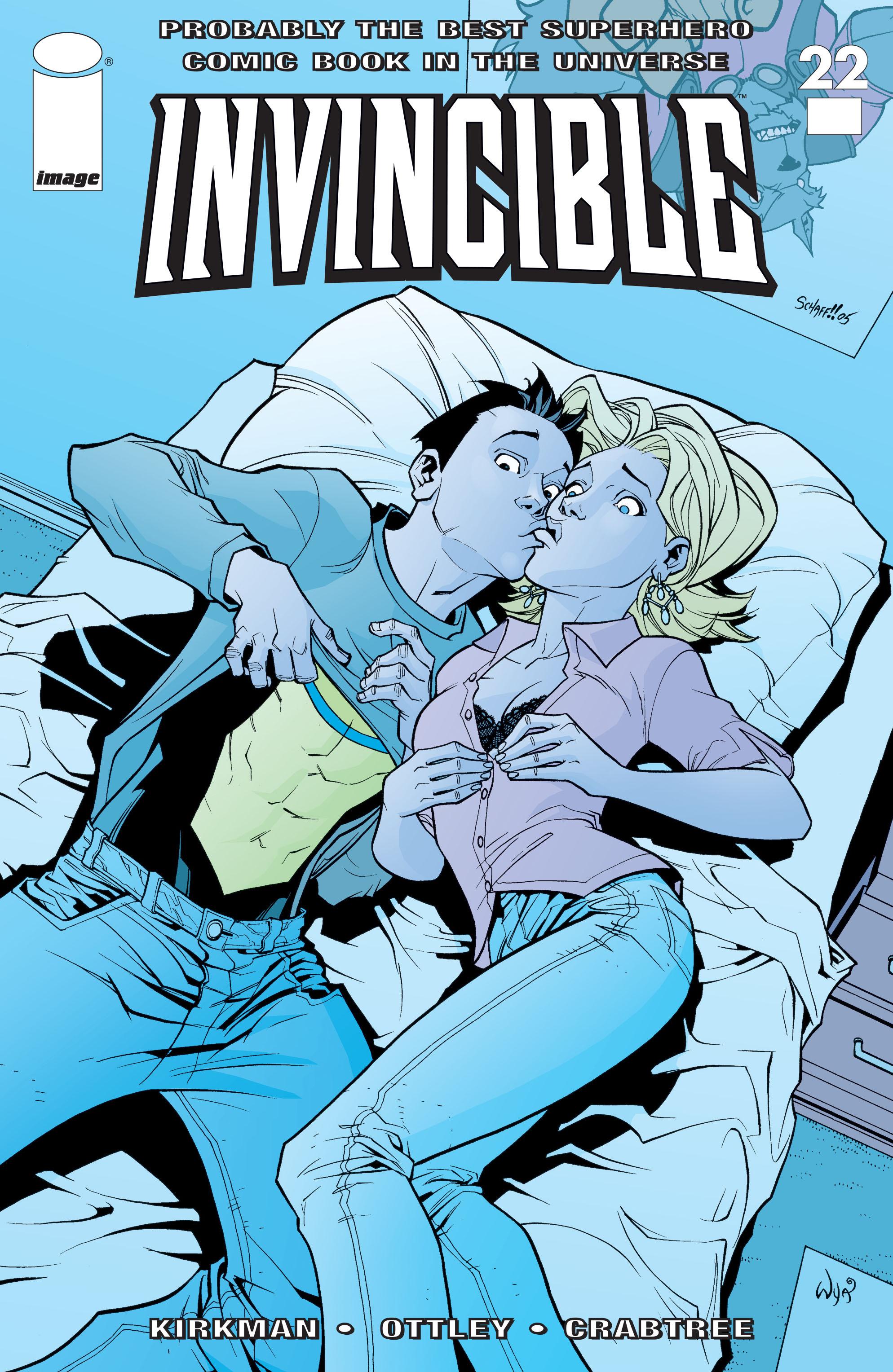 Invincible 22 Page 1