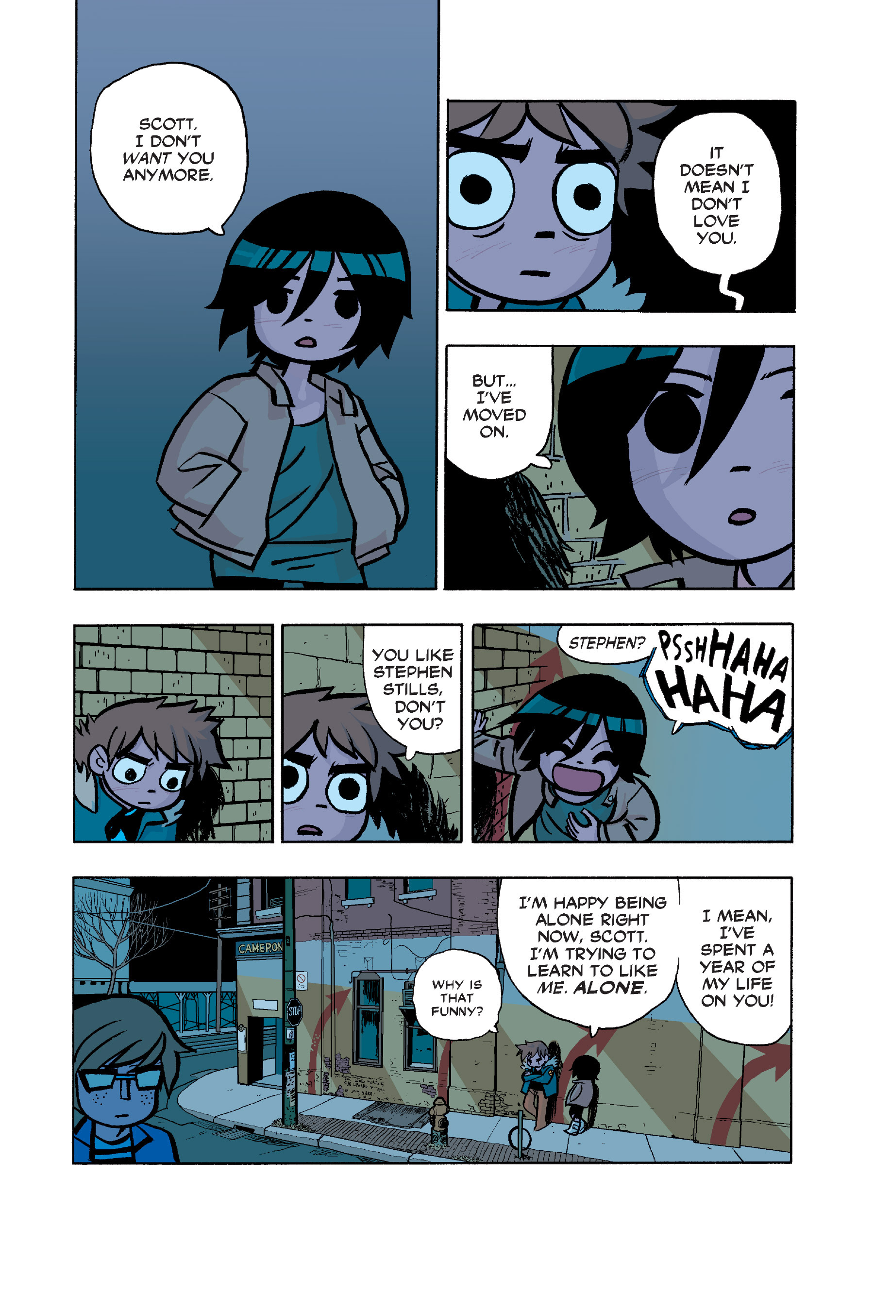 Read online Scott Pilgrim comic -  Issue #6 - 35