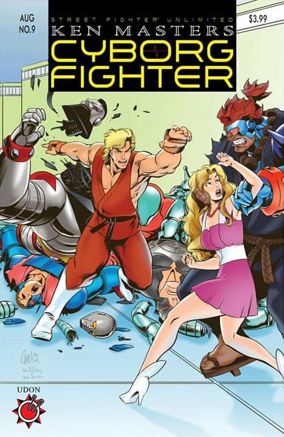 Street Fighter Unlimited Issue #9 #11 - English 3