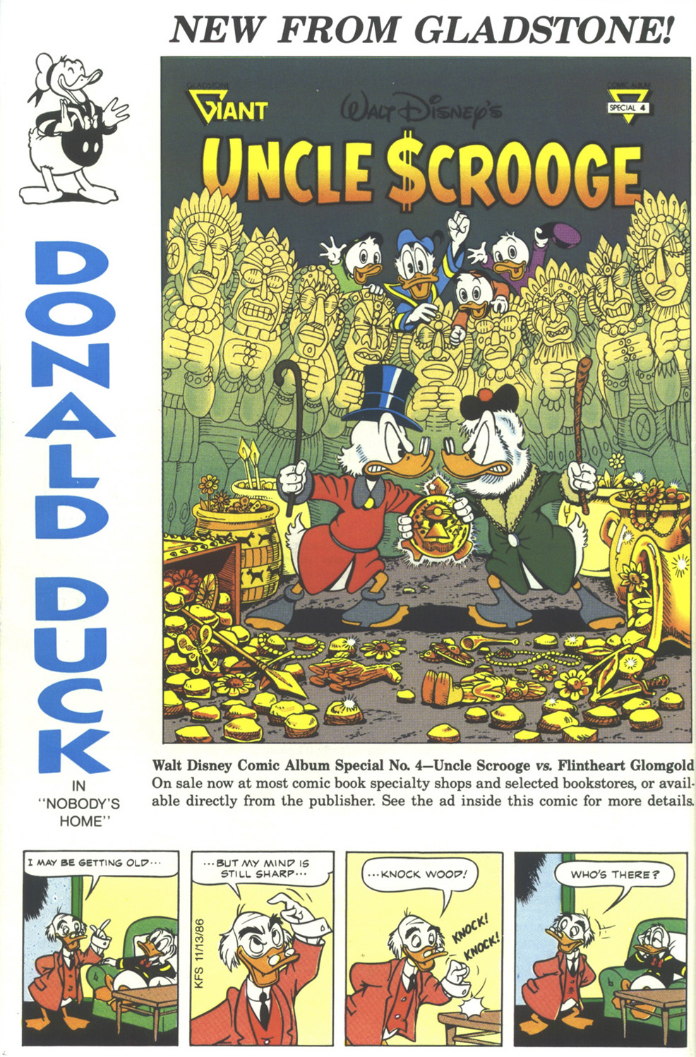 Uncle Scrooge (1953) Issue #242 #242 - English 68