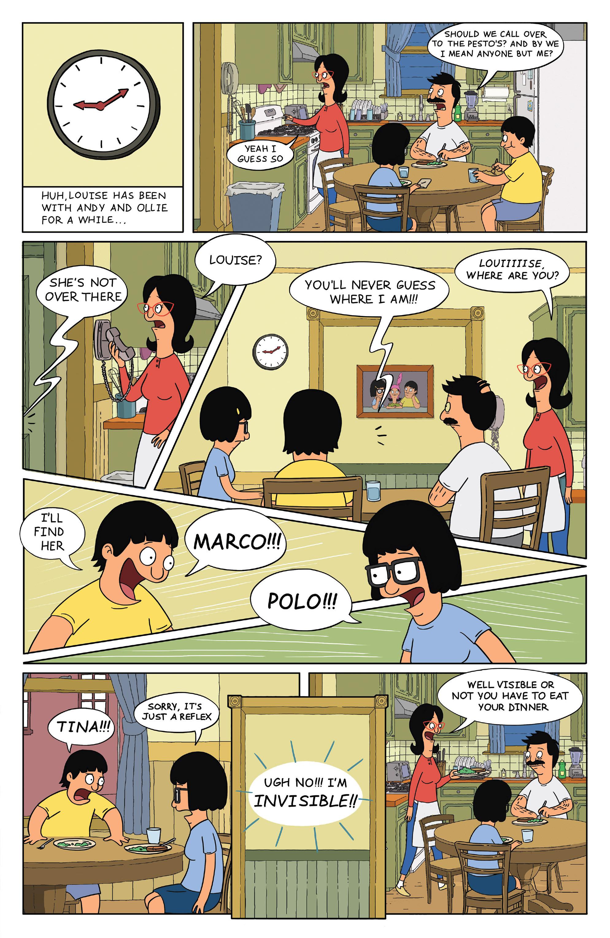 Read online Bob's Burgers (2014) comic -  Issue #4 - 15