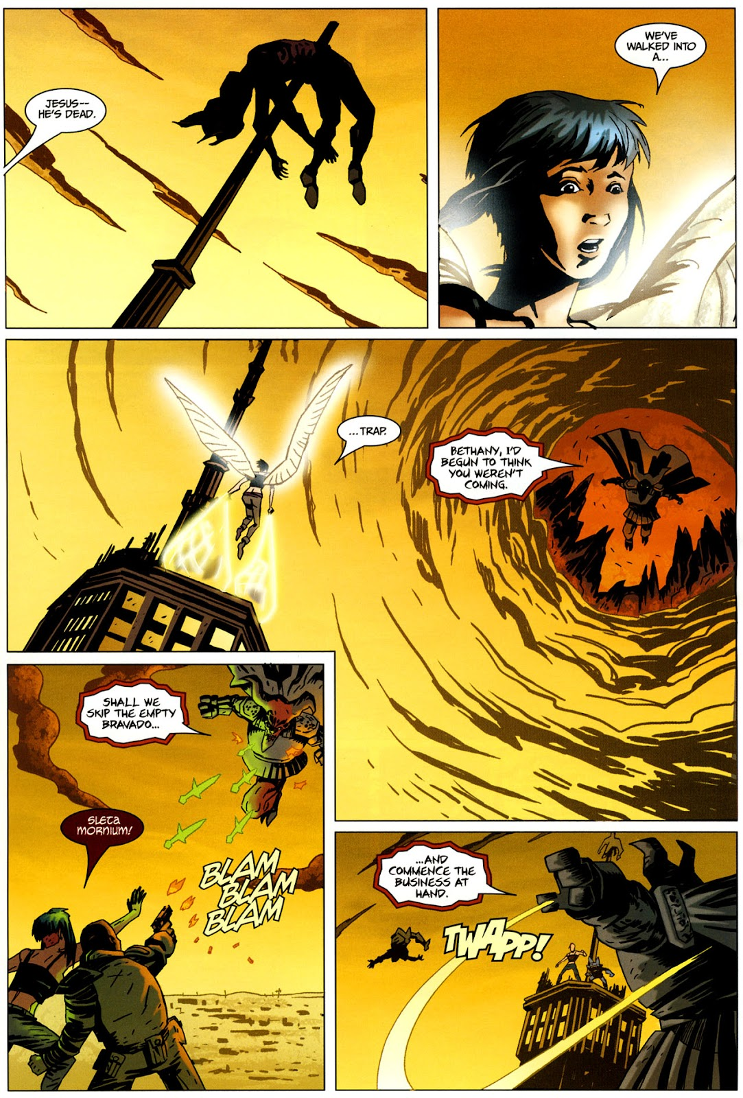 Strange Girl Issue #17 #18 - English 21