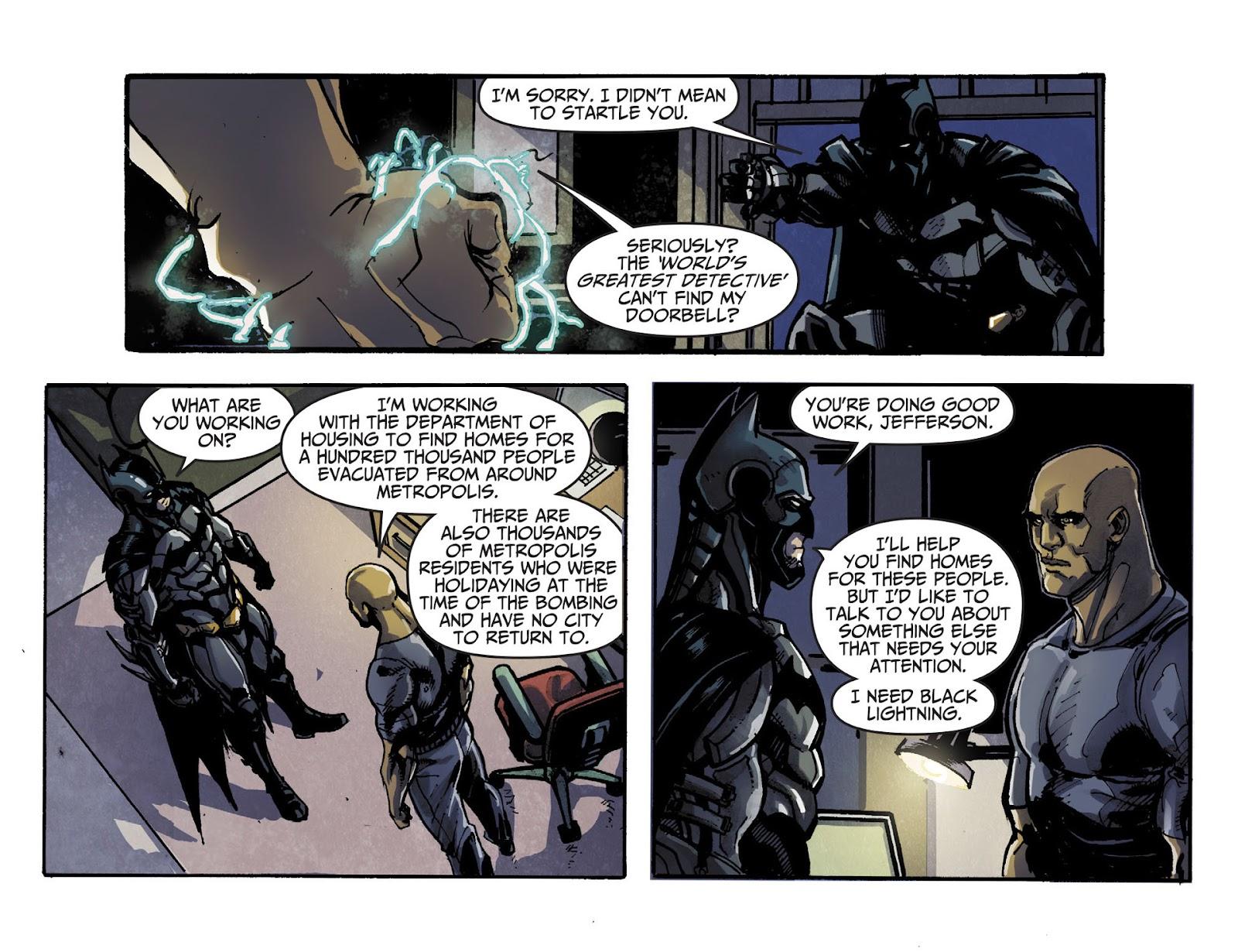 Injustice: Gods Among Us [I] Issue #18 #19 - English 20