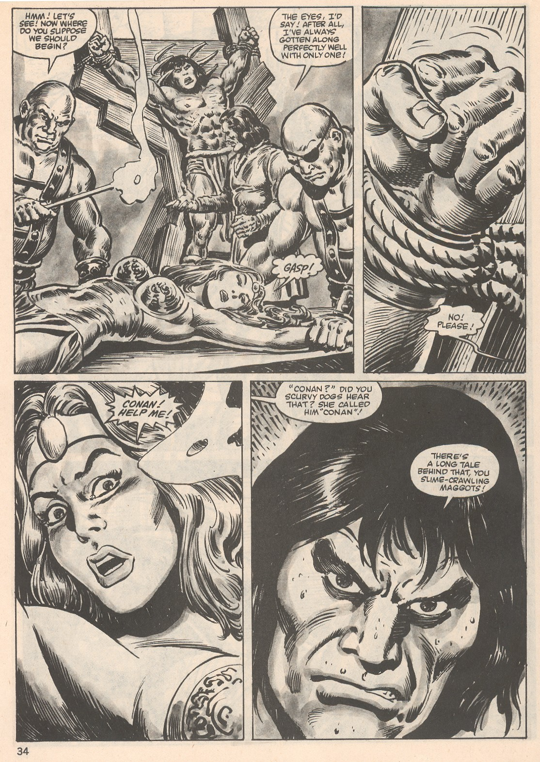 The Savage Sword Of Conan Issue #104 #105 - English 34