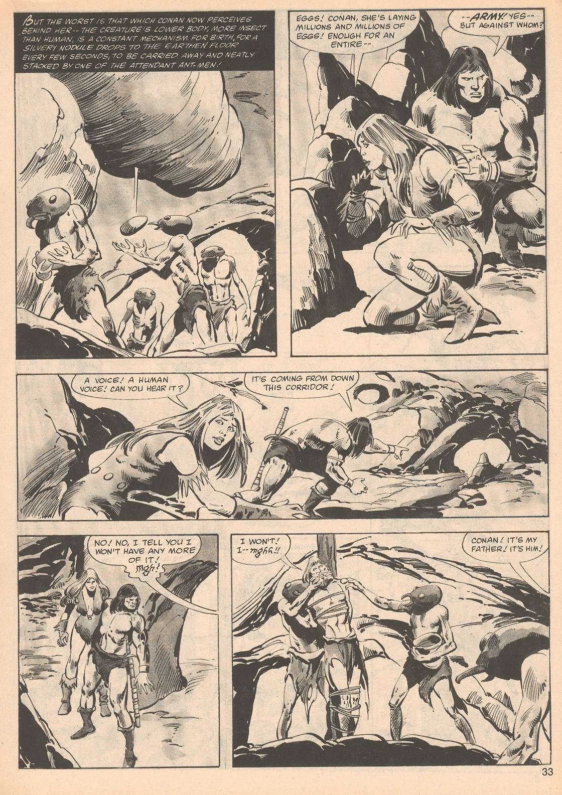 The Savage Sword Of Conan Issue #70 #71 - English 33