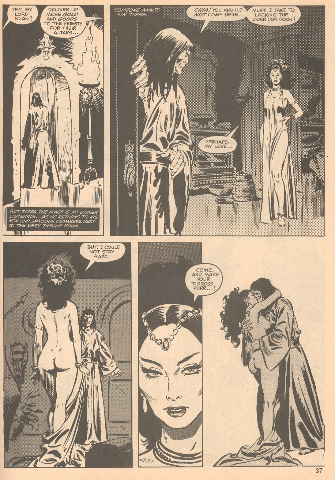 The Savage Sword Of Conan Issue #56 #57 - English 37