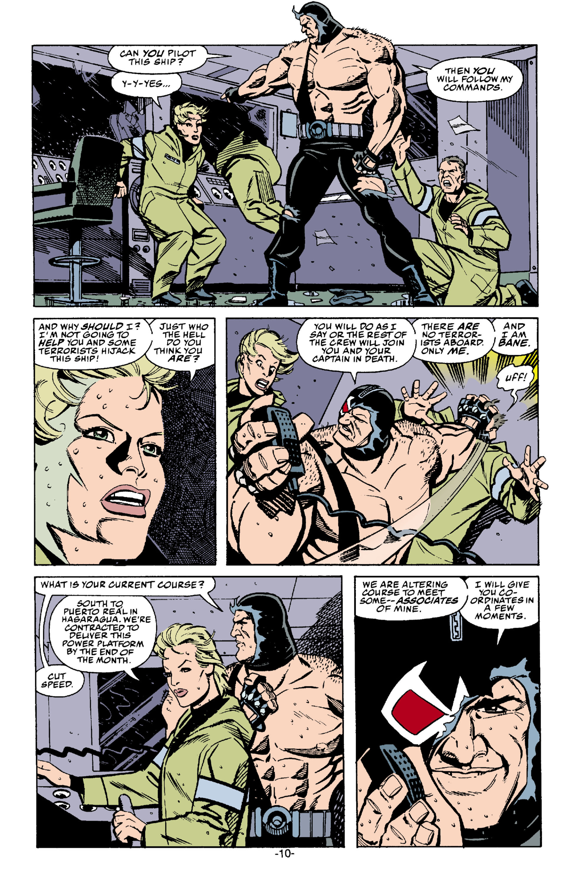 Read online Batman: Bane comic -  Issue # Full - 11