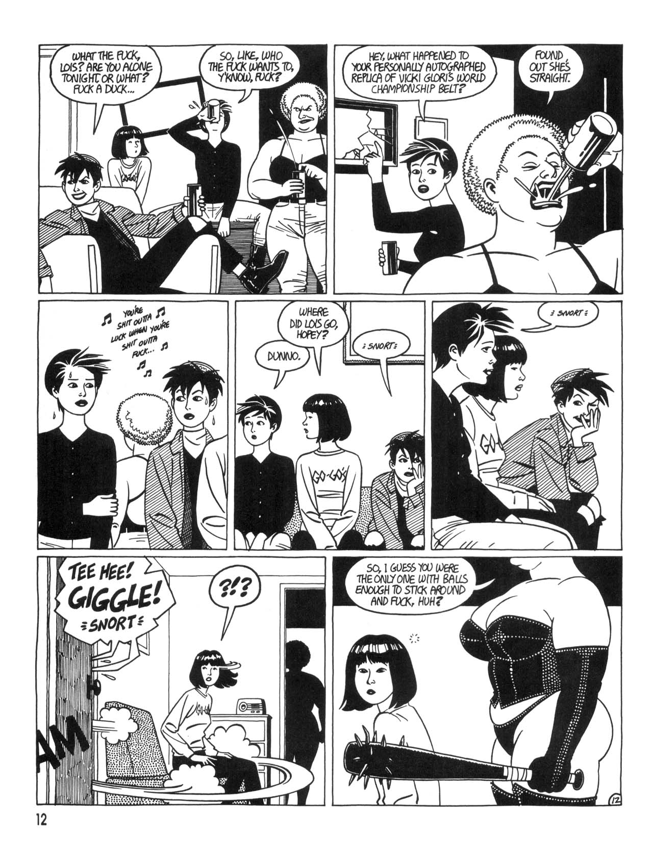 Love and Rockets (1982) #35 #35 - English 14