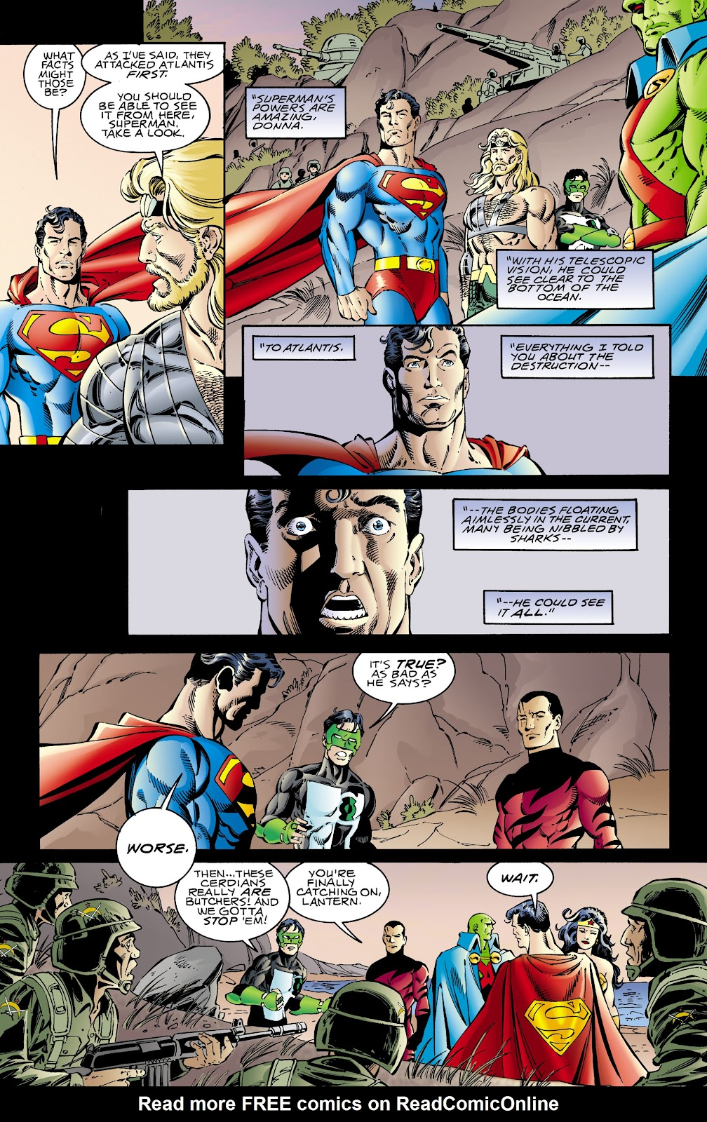 Aquaman (1994) Issue #66 #72 - English 10