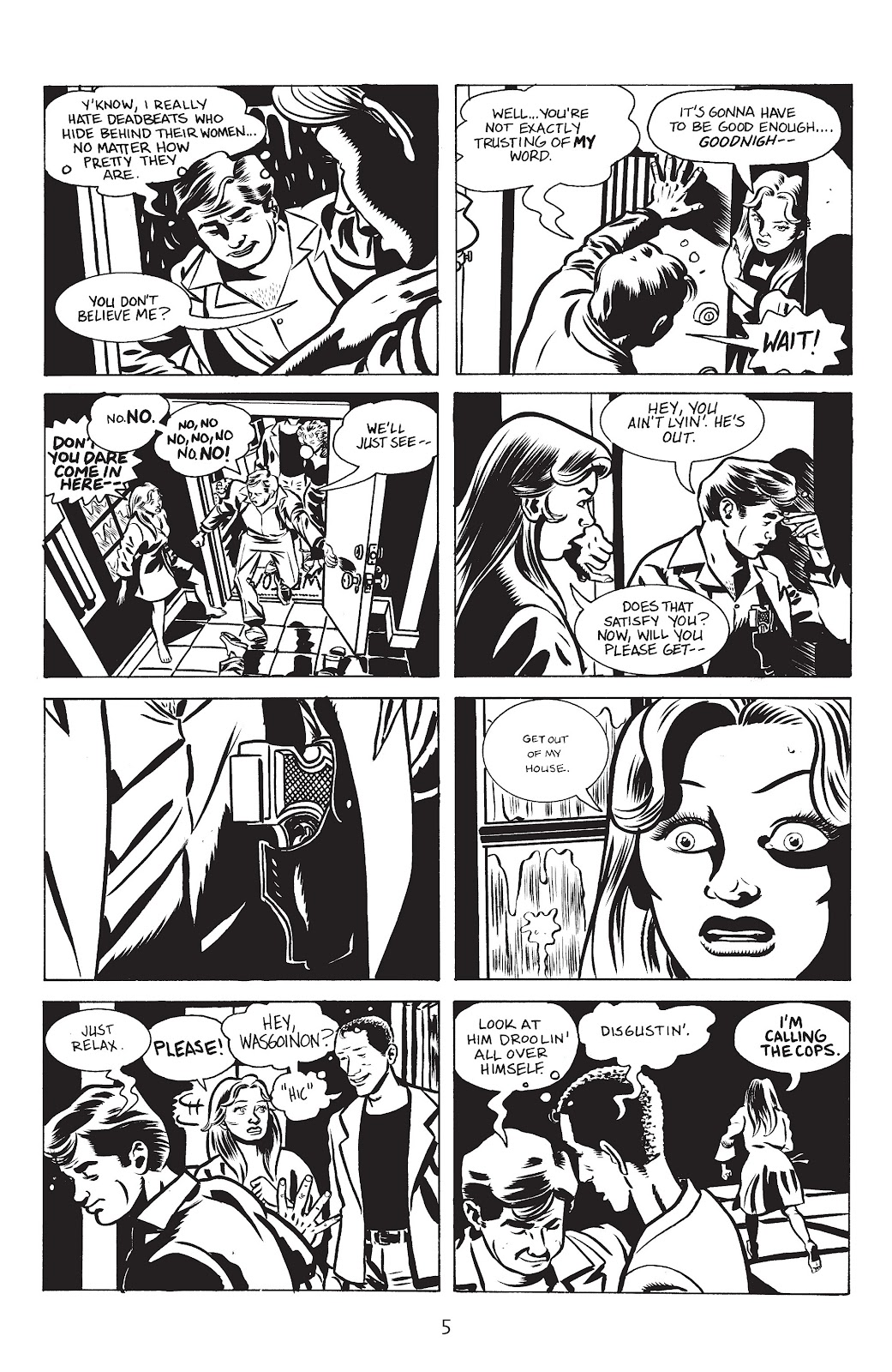 Stray Bullets Issue #17 #17 - English 7