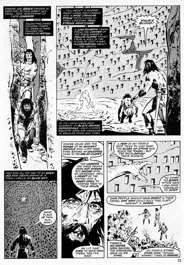 The Savage Sword Of Conan Issue #38 #39 - English 21