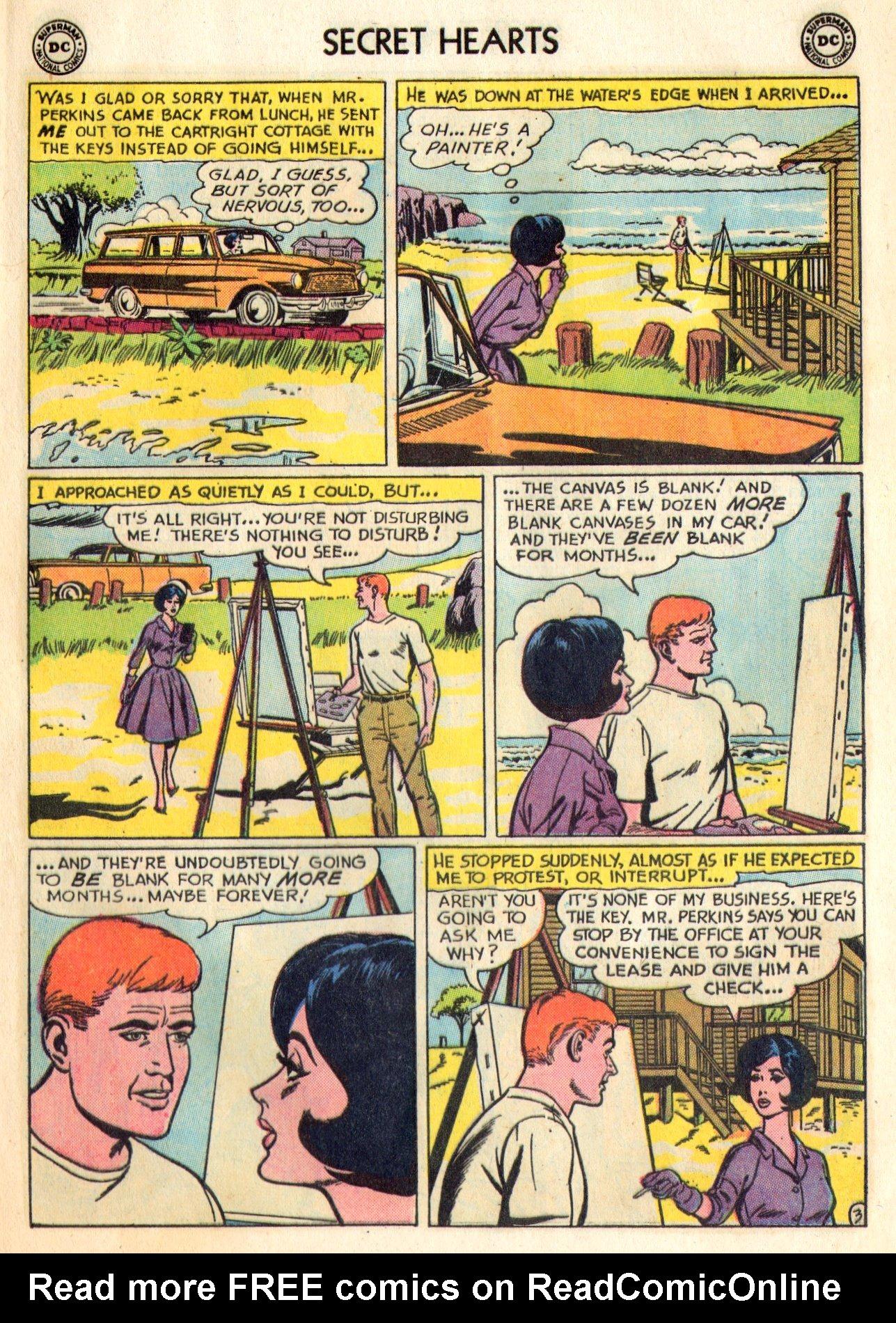 Read online Secret Hearts comic -  Issue #84 - 13