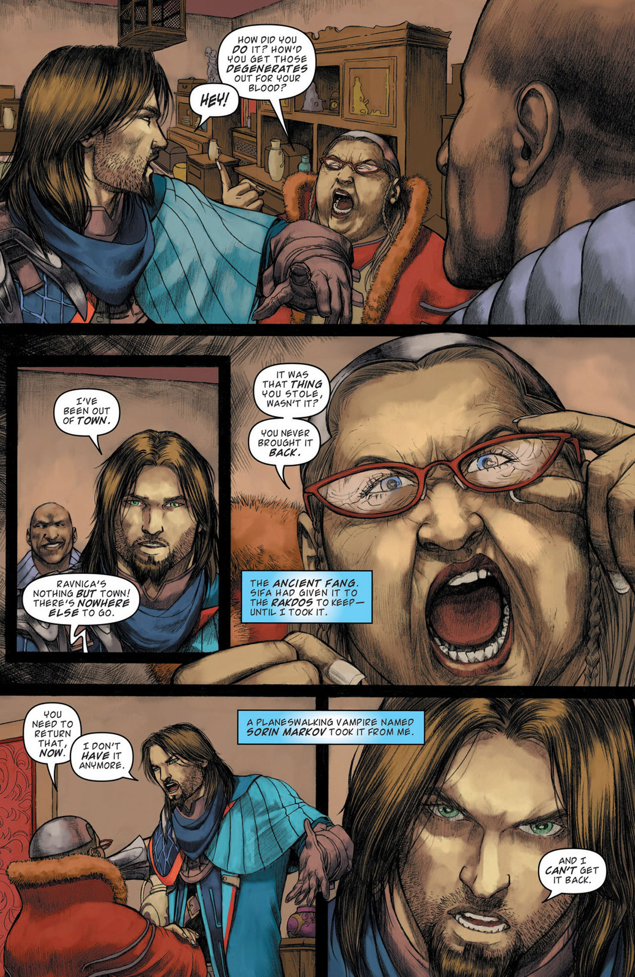 Read online Magic: The Gathering--Path of Vengeance comic -  Issue #1 - 9