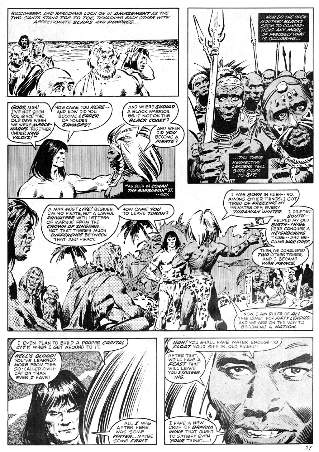 The Savage Sword Of Conan Issue #41 #42 - English 17