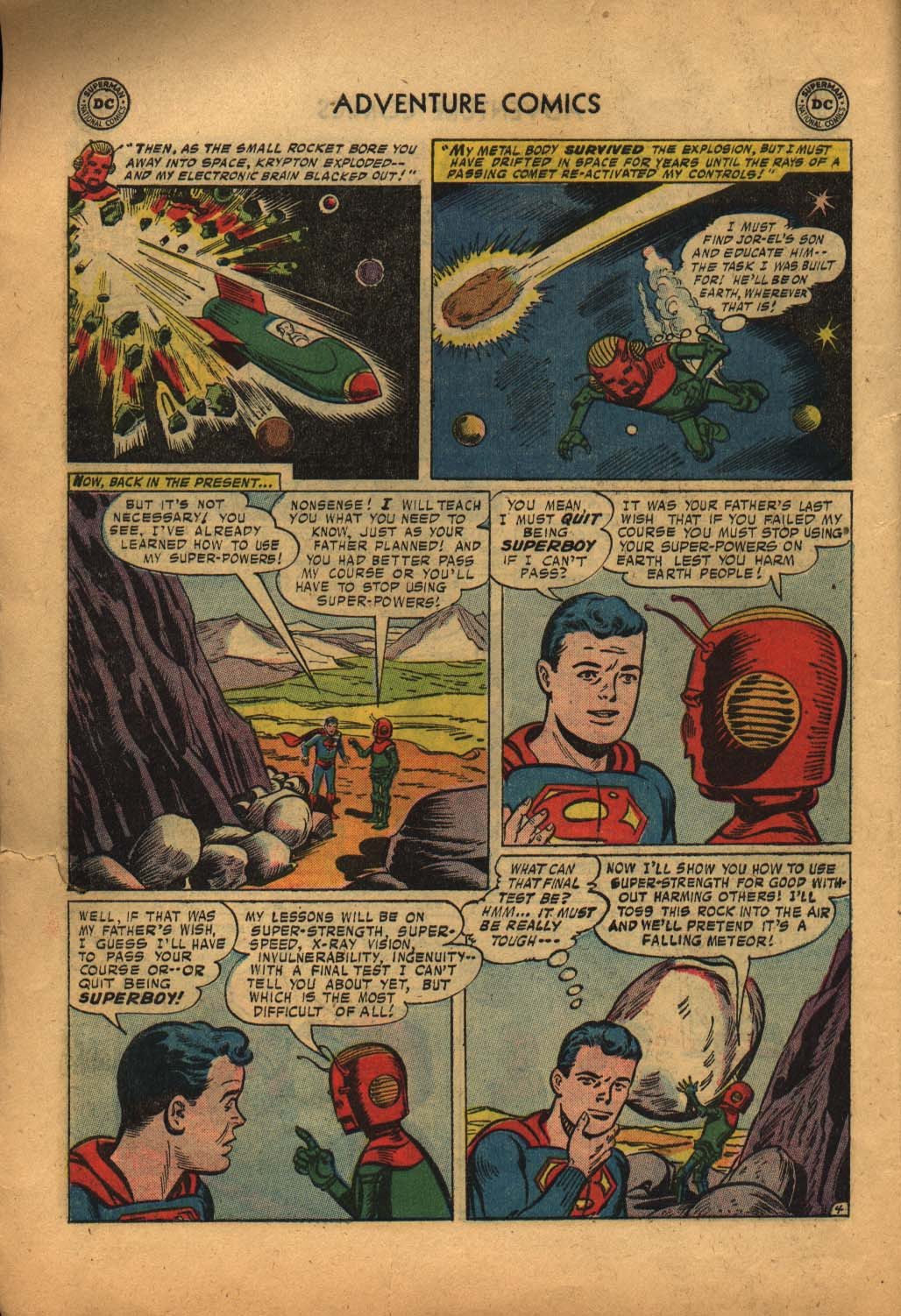 Read online Adventure Comics (1938) comic -  Issue #240 - 6