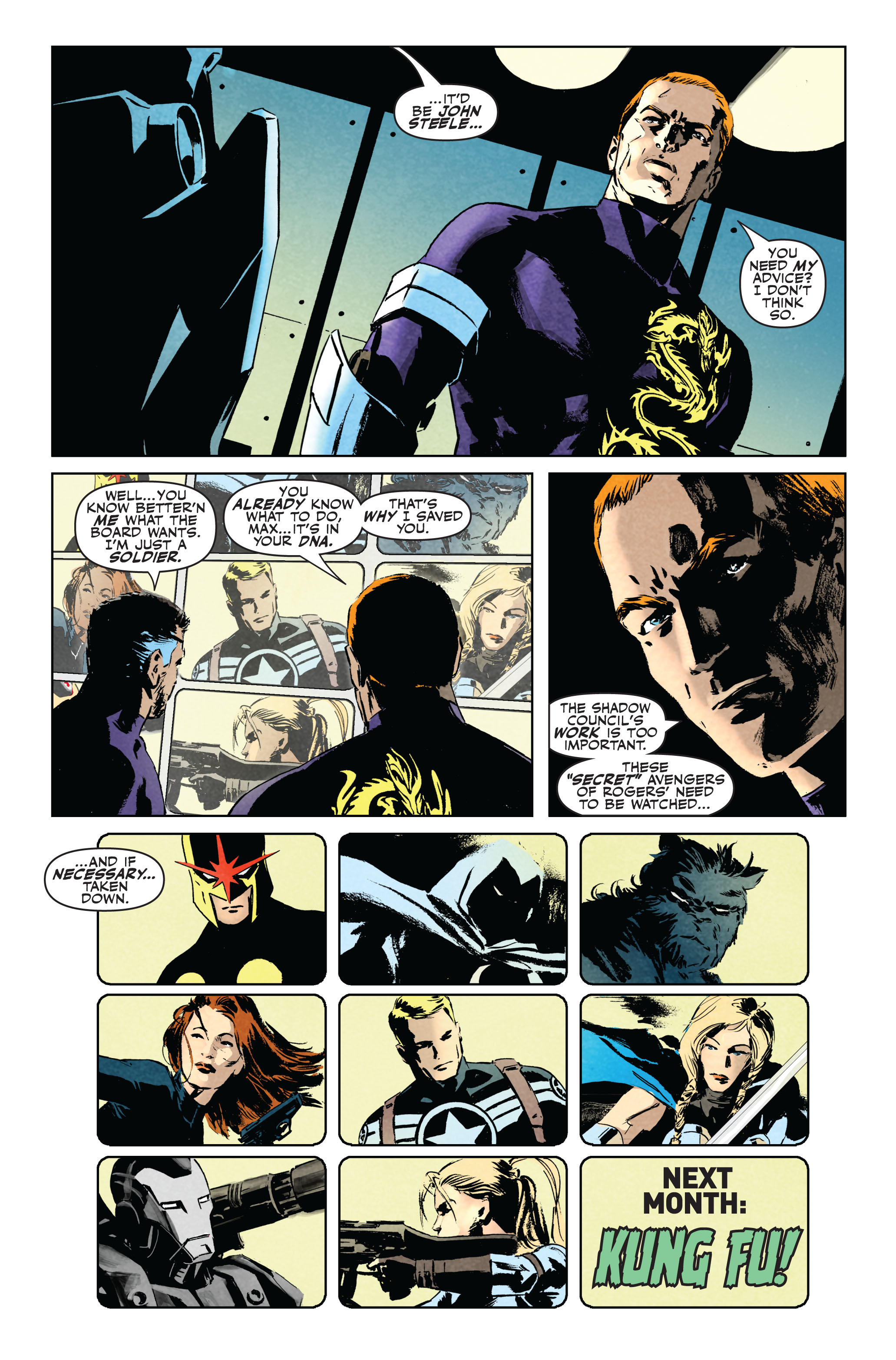 Read online Secret Avengers (2010) comic -  Issue #5 - 24