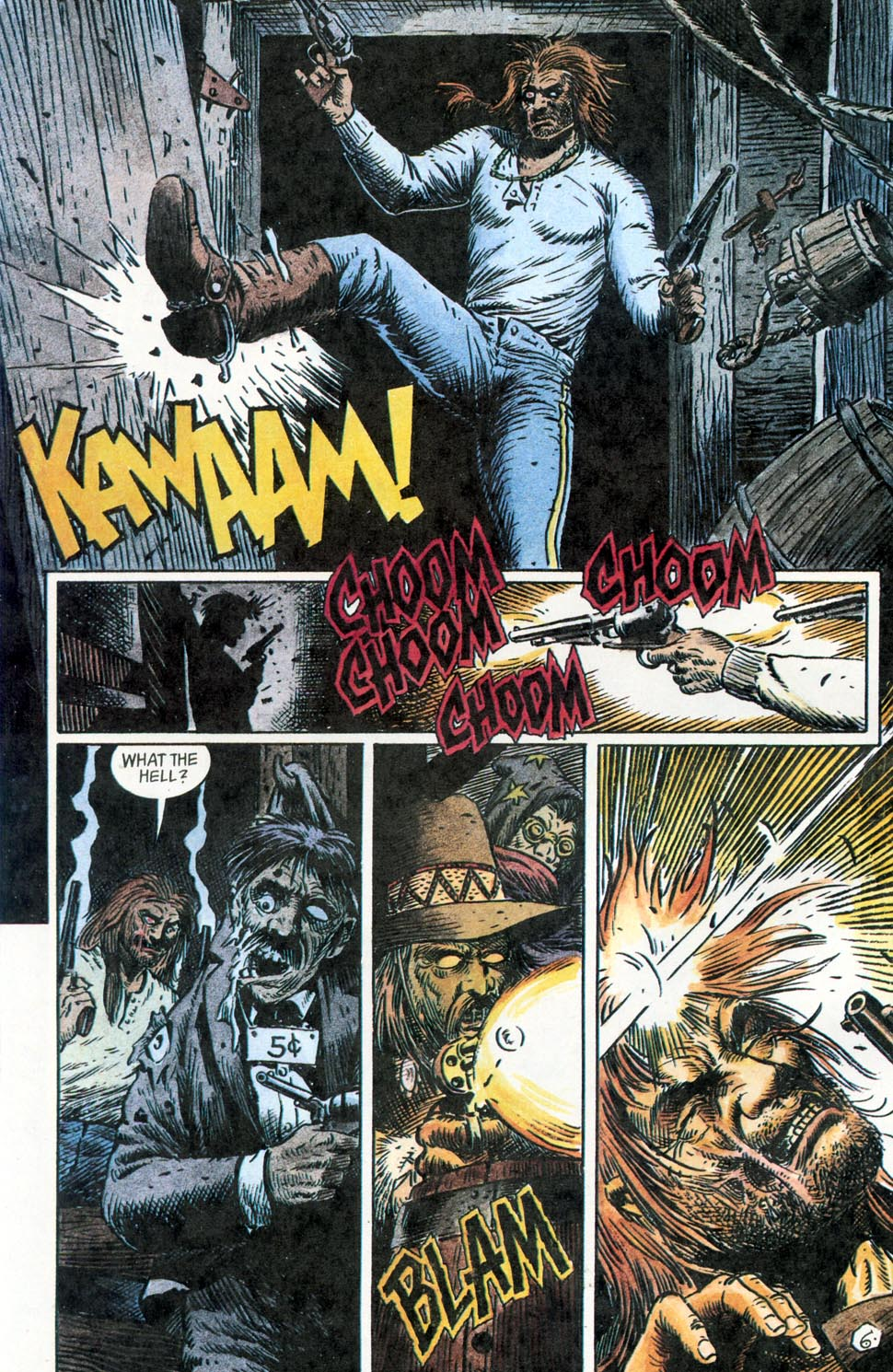 Jonah Hex: Two-Gun Mojo Issue #2 #2 - English 8