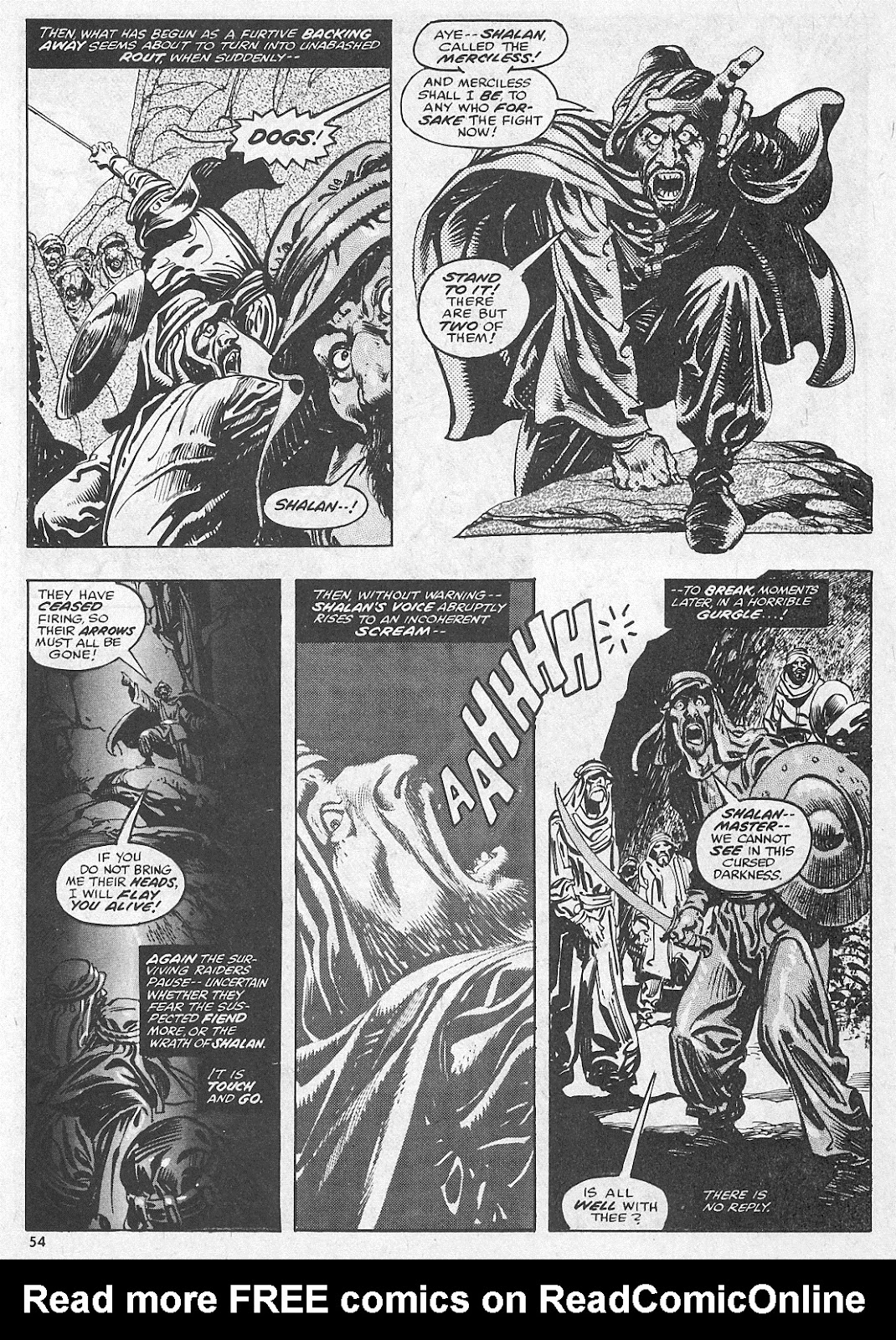 The Savage Sword Of Conan Issue #28 #29 - English 54