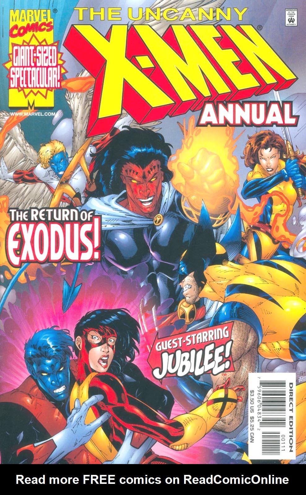 X-Men Annual 23 Page 1