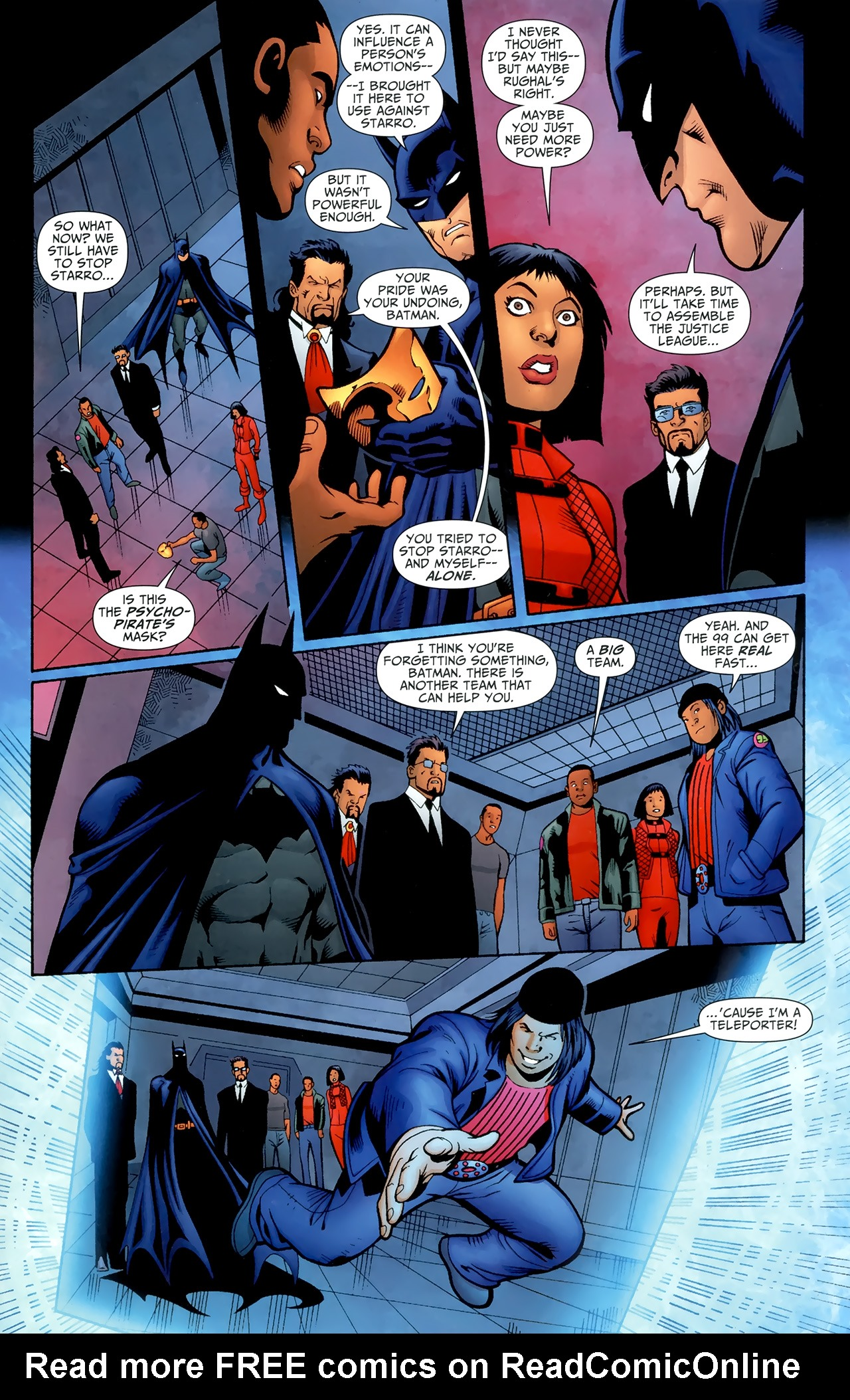 Read online Justice League of America/The 99 comic -  Issue #6 - 13