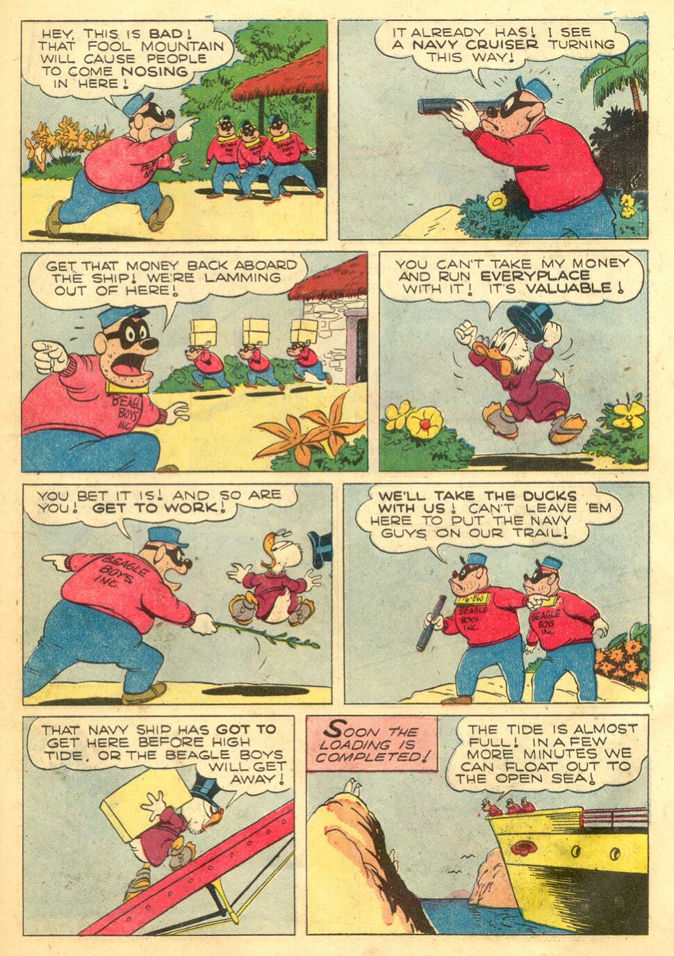 Uncle Scrooge (1953) Issue #4 #4 - English 31