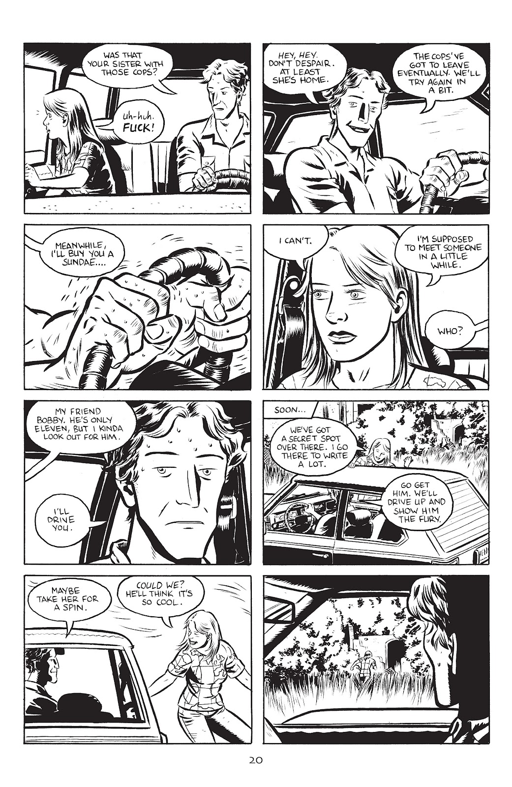 Stray Bullets Issue #25 #25 - English 22