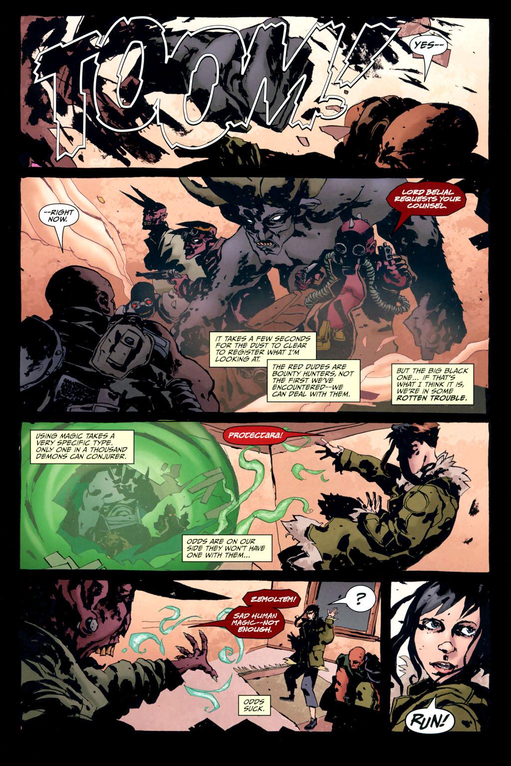 Strange Girl Issue #10 #11 - English 6