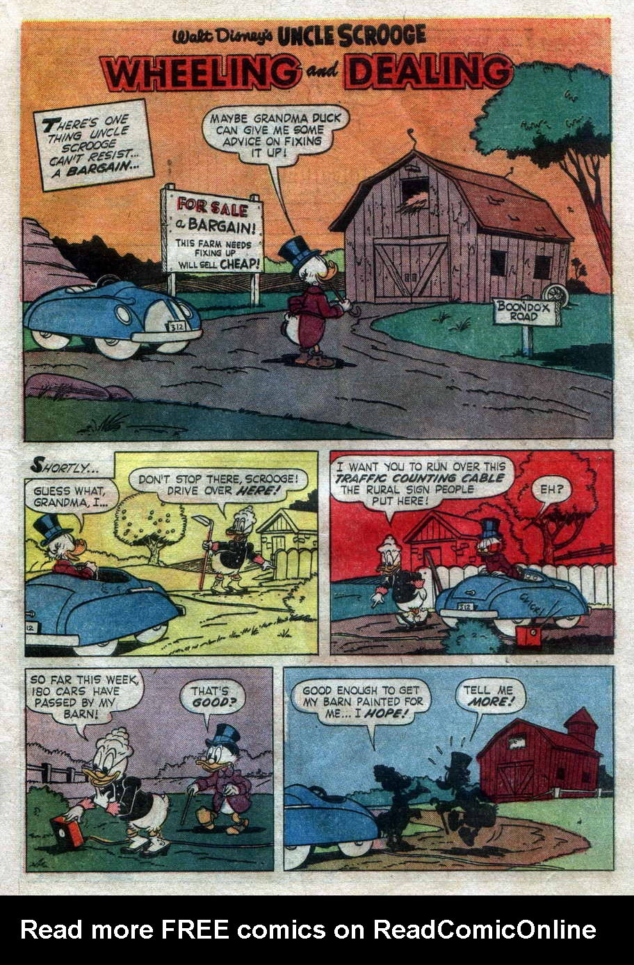 Uncle Scrooge (1953) Issue #42 #42 - English 29