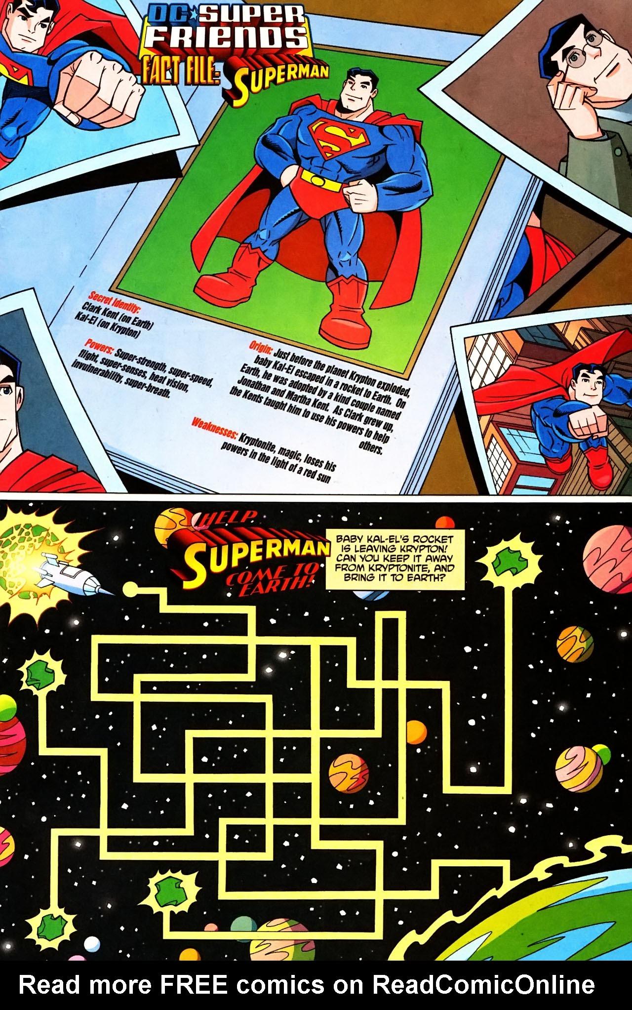 Super Friends #1 #29 - English 11