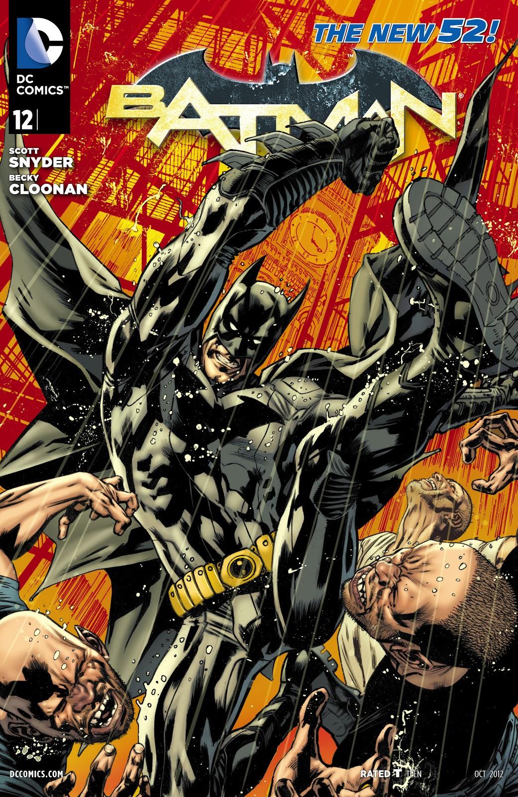 Batman (2011) Issue #12 #27 - English 30