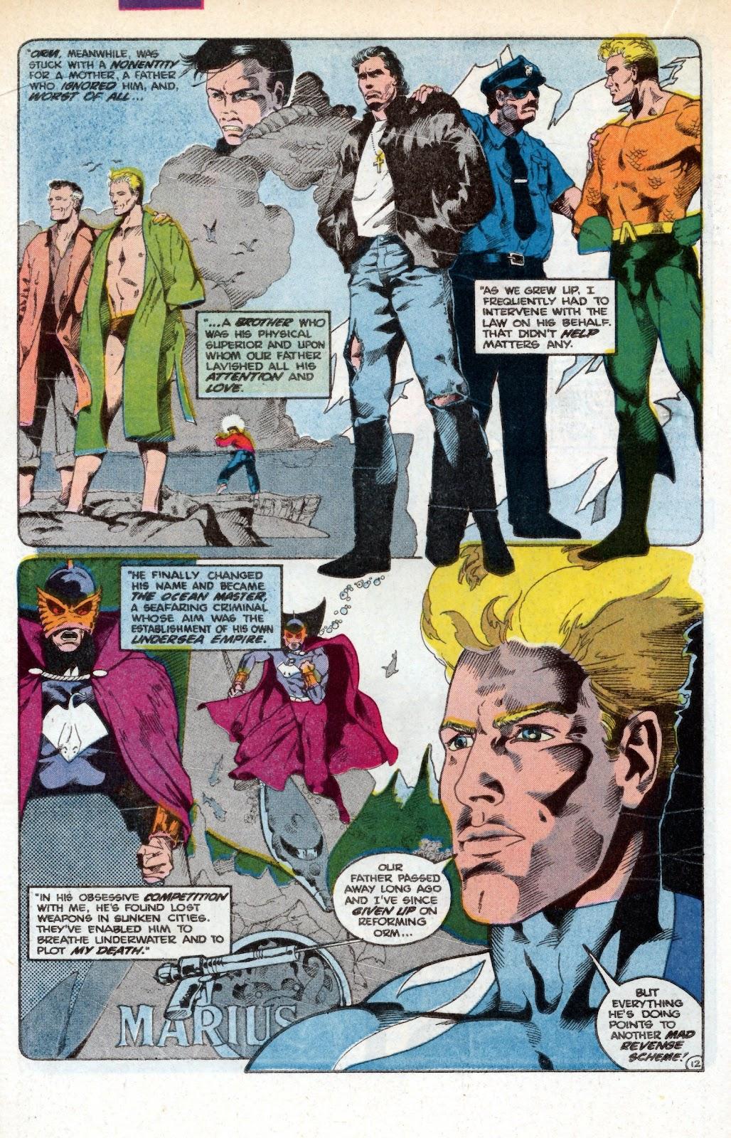 Aquaman (1986) Issue #3 #3 - English 18