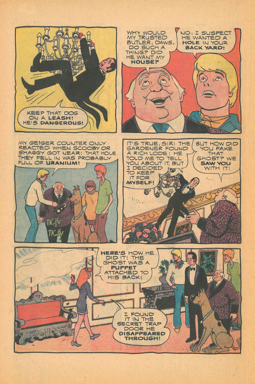 Read online Scooby-Doo... Mystery Comics comic -  Issue #21 - 32