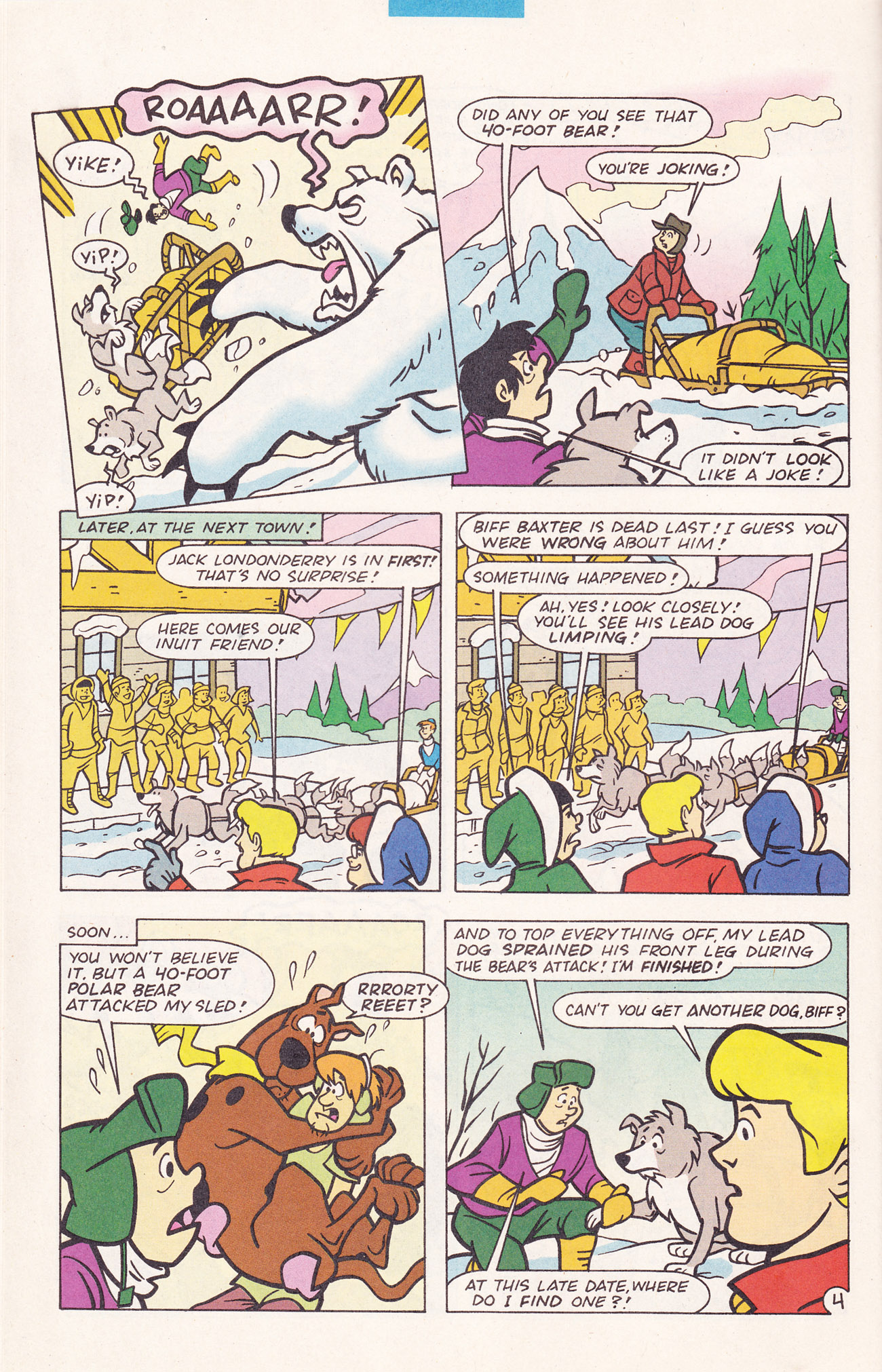Read online Scooby-Doo (1995) comic -  Issue #19 - 28