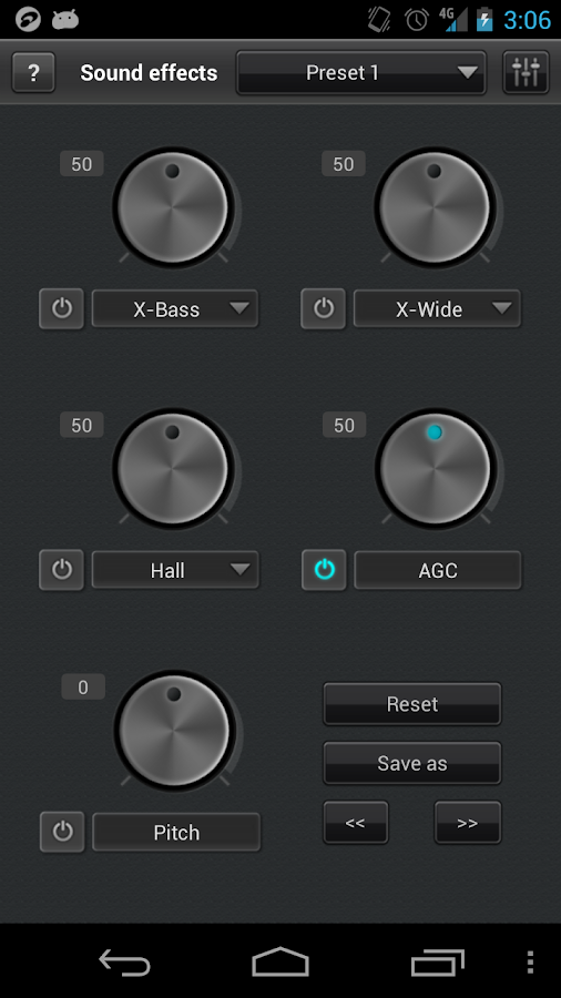 Screenshot JetAudio Plus