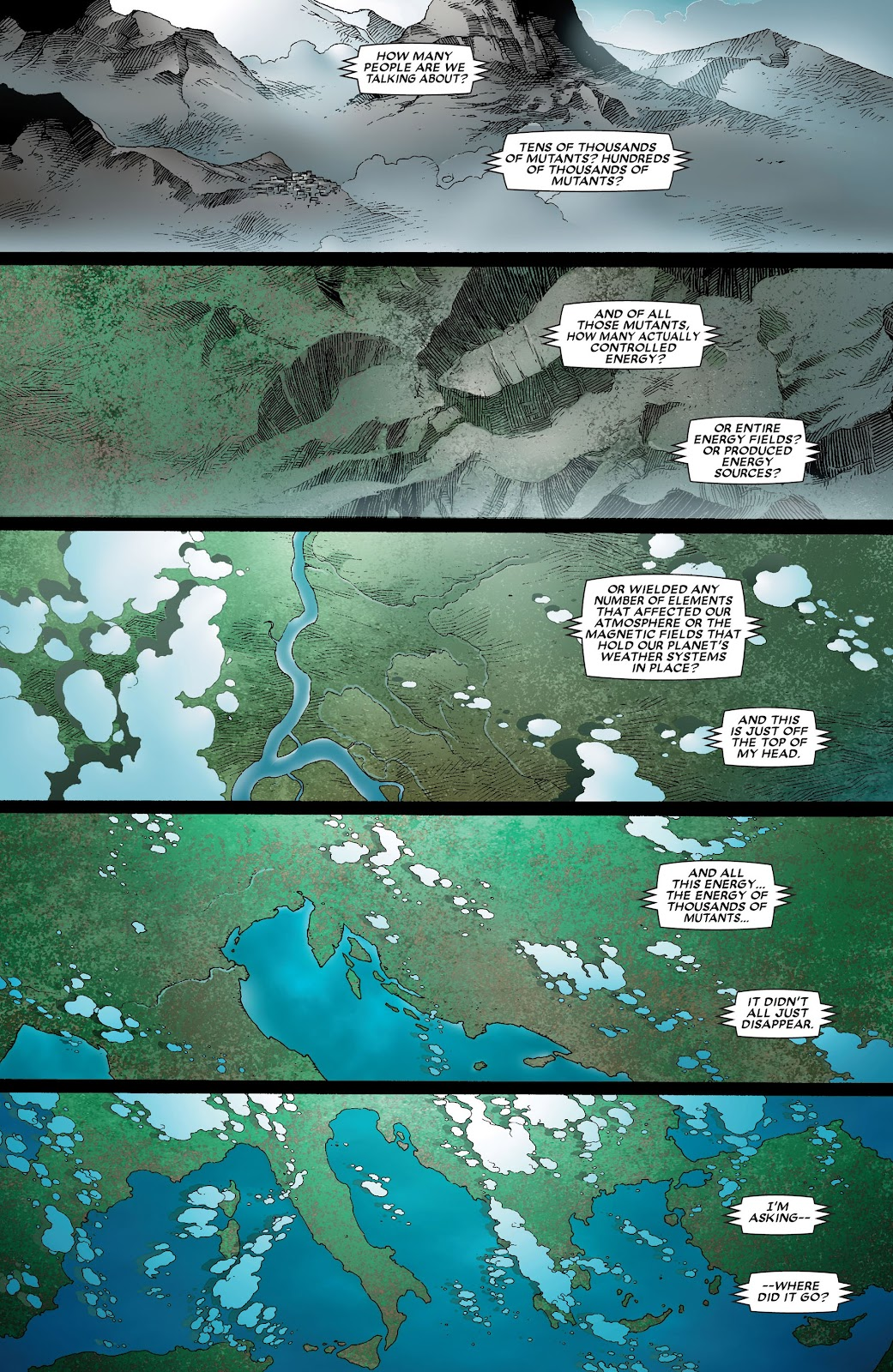 House of M (2005) Issue #8 #8 - English 25
